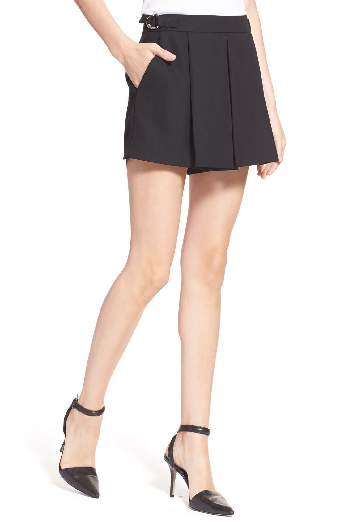 Alternate Image 6  - Alexander Wang Pleated Wool Shorts