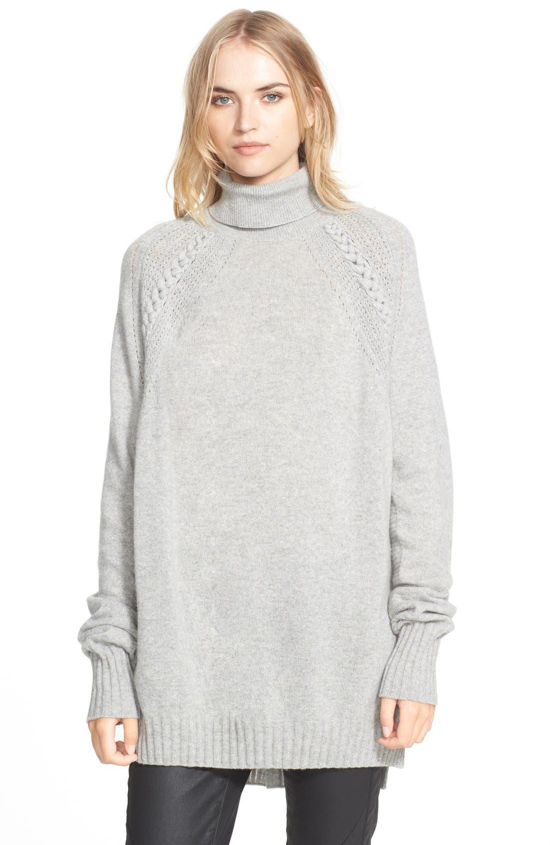 Alternate Image 1 Selected - Belstaff Wool & Cashmere Turtleneck Sweater