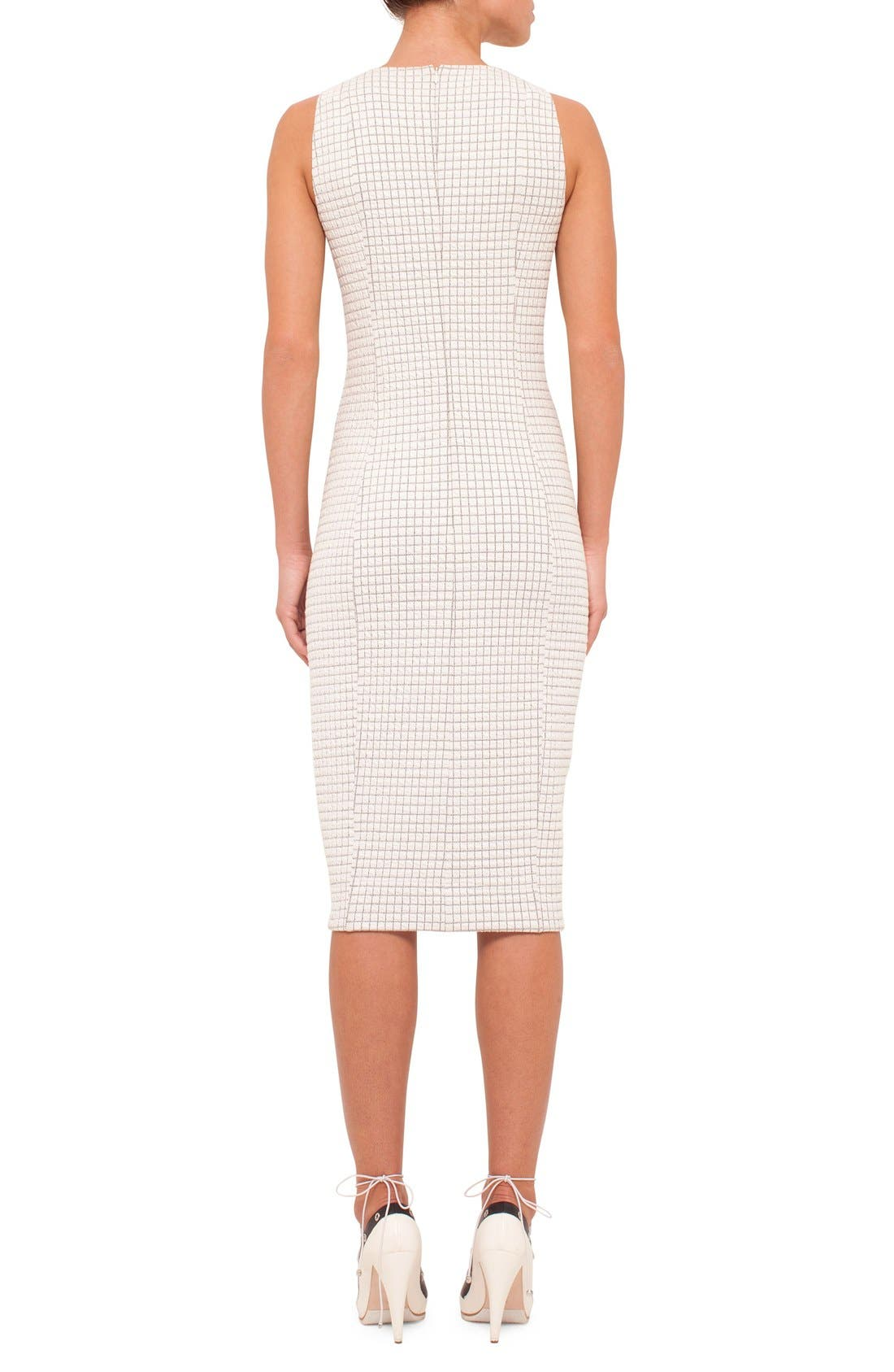 Alternate Image 2  - Akris punto Sleeveless Jersey Dress