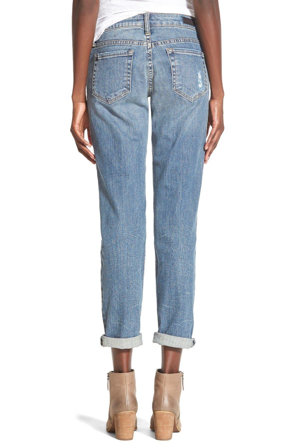 Alternate Image 3  - STS Blue 'Joey' Cropped Boyfriend Jeans