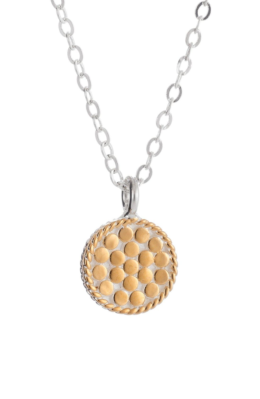 Alternate Image 1 Selected - Anna Beck 'Gili' Reversible Disc Pendant Necklace