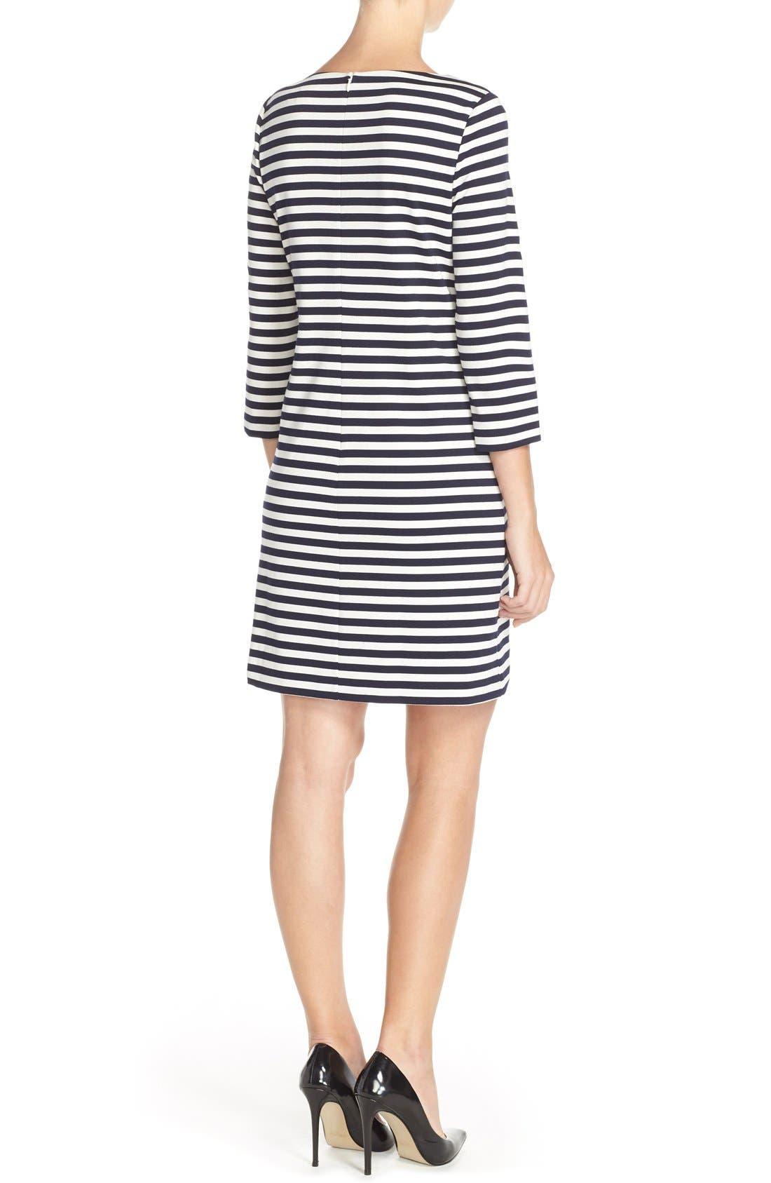 Alternate Image 2  - Eliza J Stripe Shift Dress