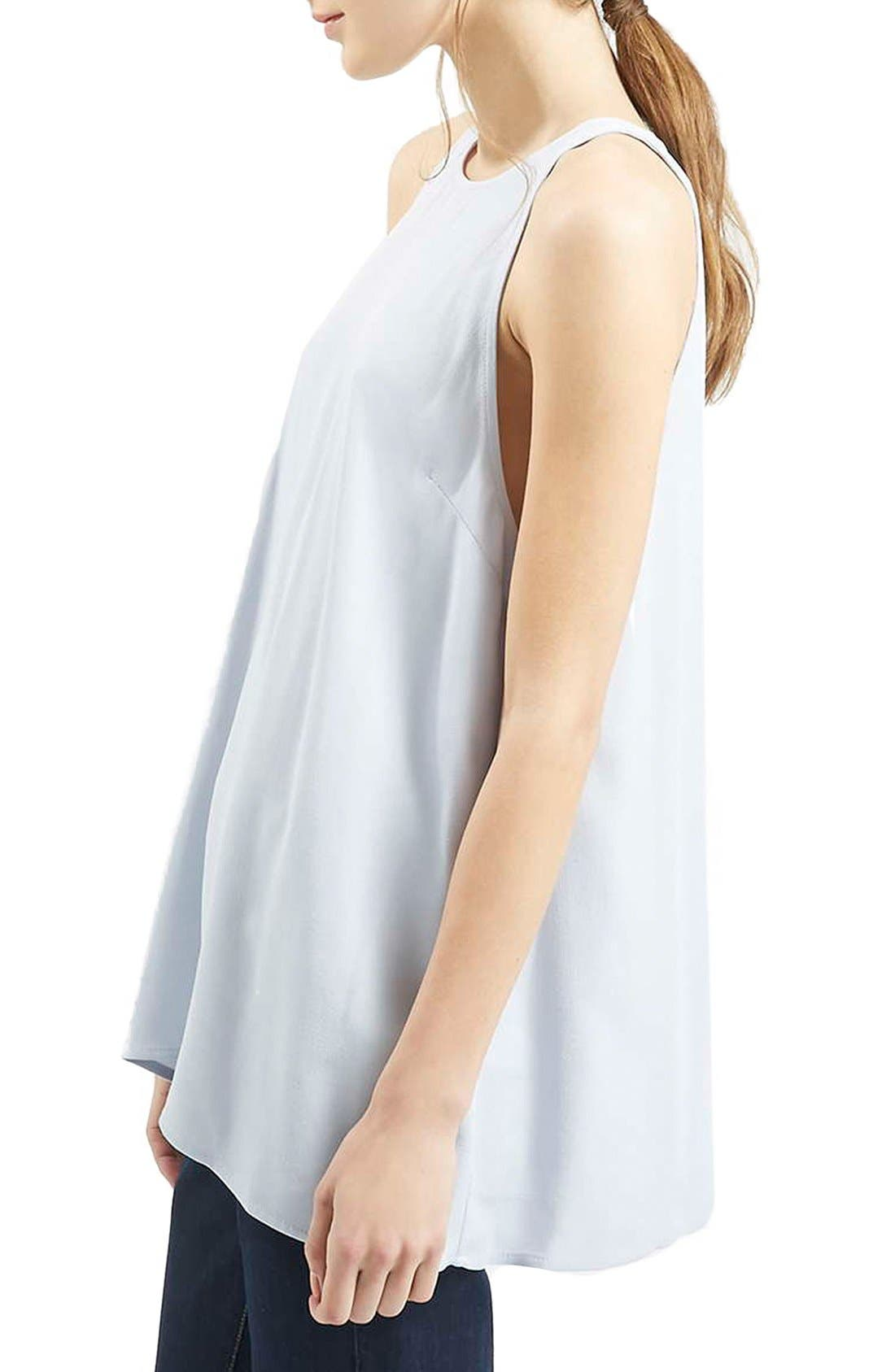 Alternate Image 4  - Topshop 'Milo' Split Back Sleeveless Top