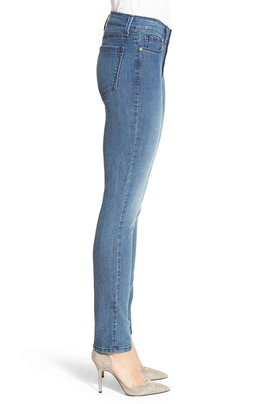 Alternate Image 3  - NYDJ 'Sheri' Stretch Skinny Jeans (Karval) (Regular & Petite)