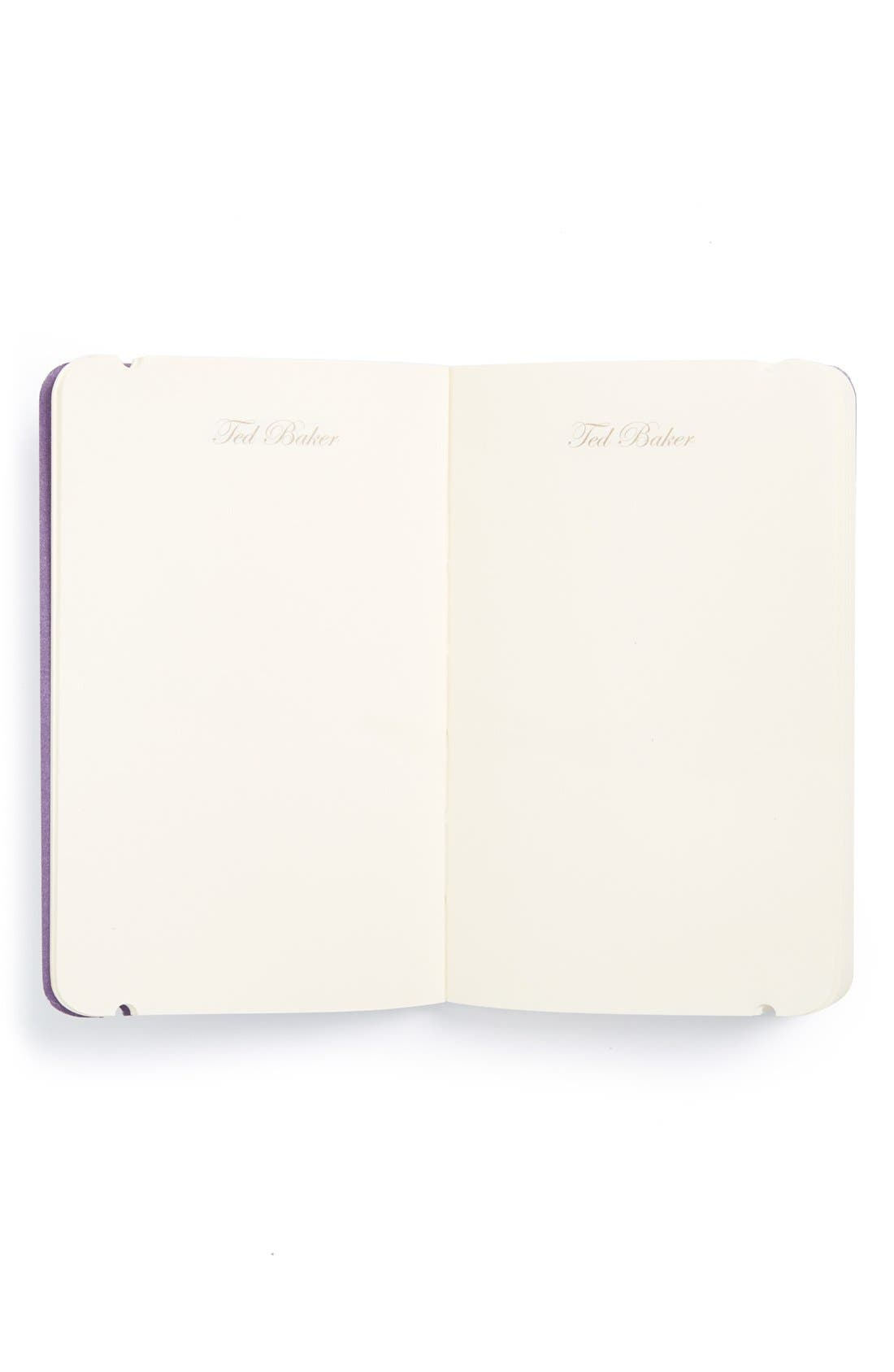 Alternate Image 2  - Wild and Wolf x Ted Baker London 'Shadow Flora' Mini Notebook & Pen