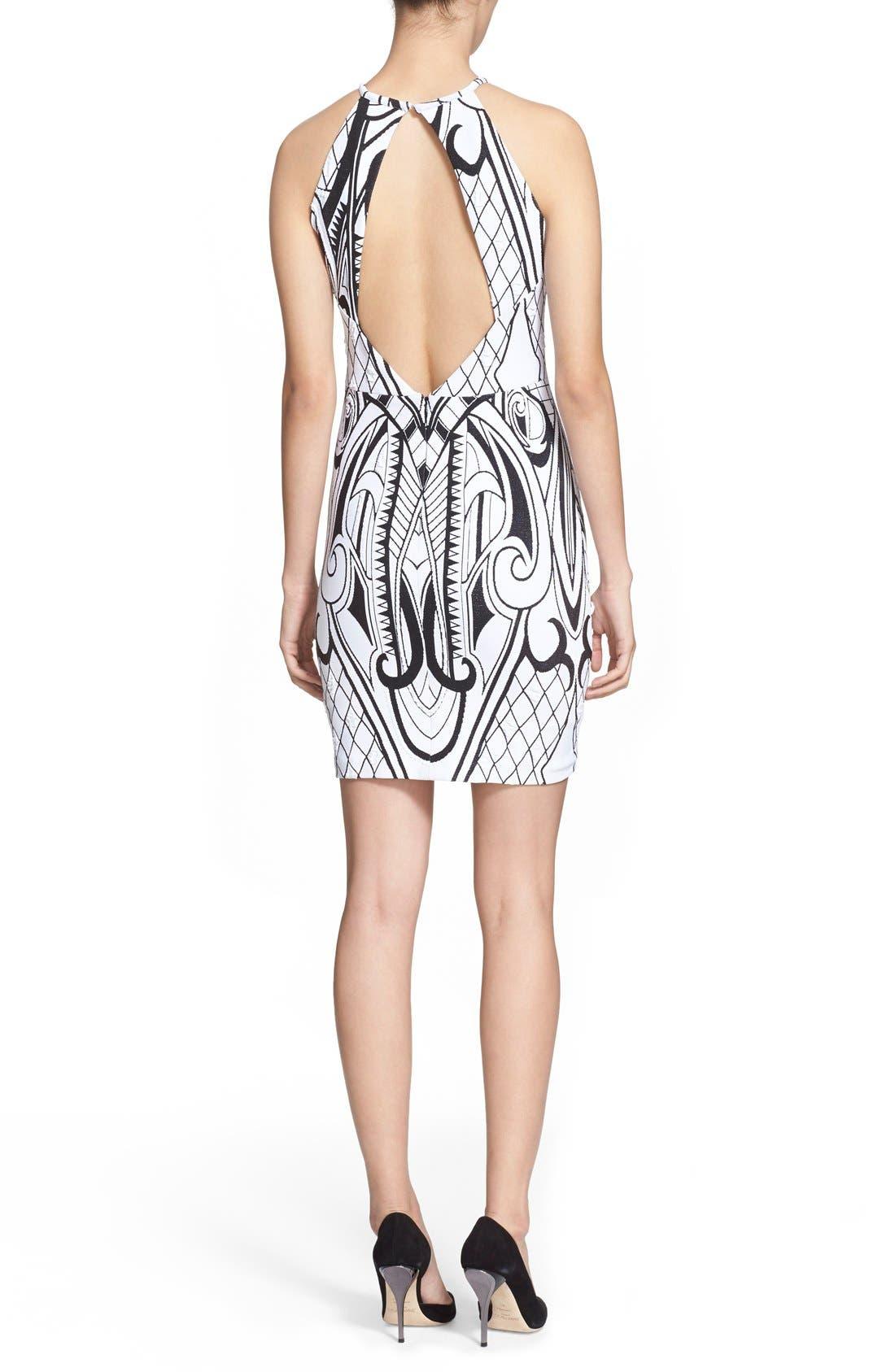 Alternate Image 2  - Parker 'Jaden' Knit Sheath Dress