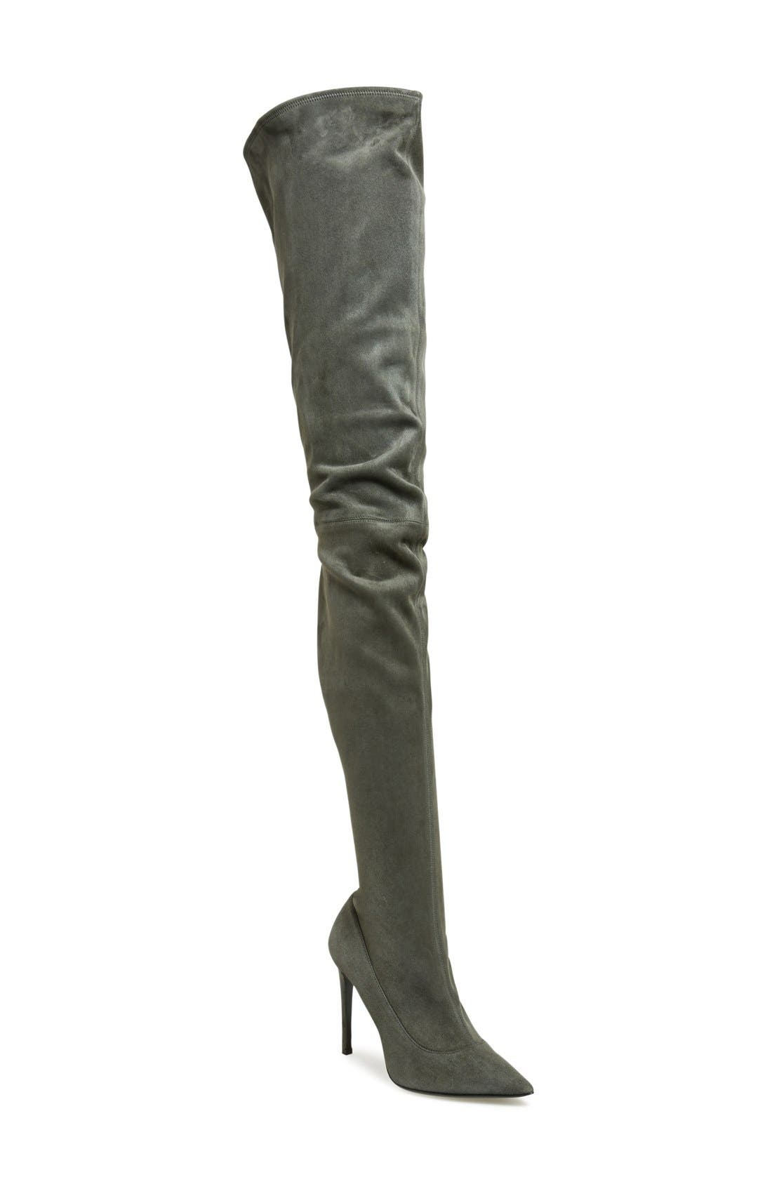 Alternate Image 1 Selected - Tamara Mellon 'Trouble' Stretch Thigh High Boot (Women)