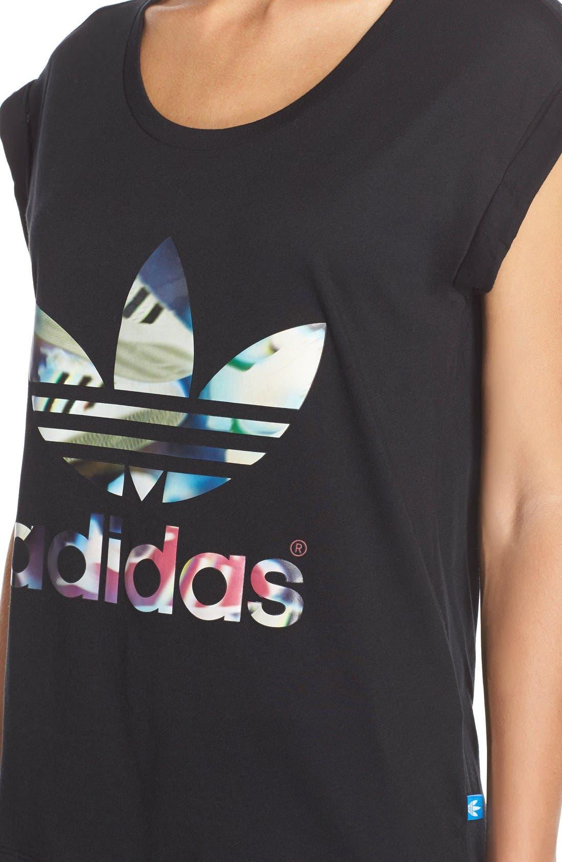 Alternate Image 4  - adidas Originals Logo Tee