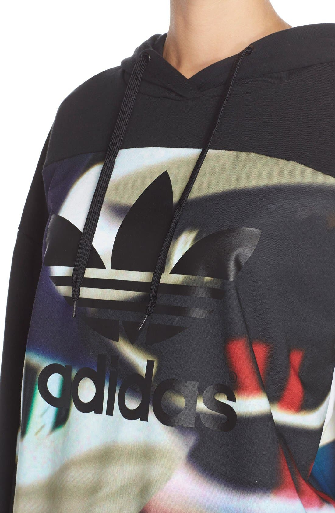 Alternate Image 4  - adidas Originals 'AOP' Hoodie