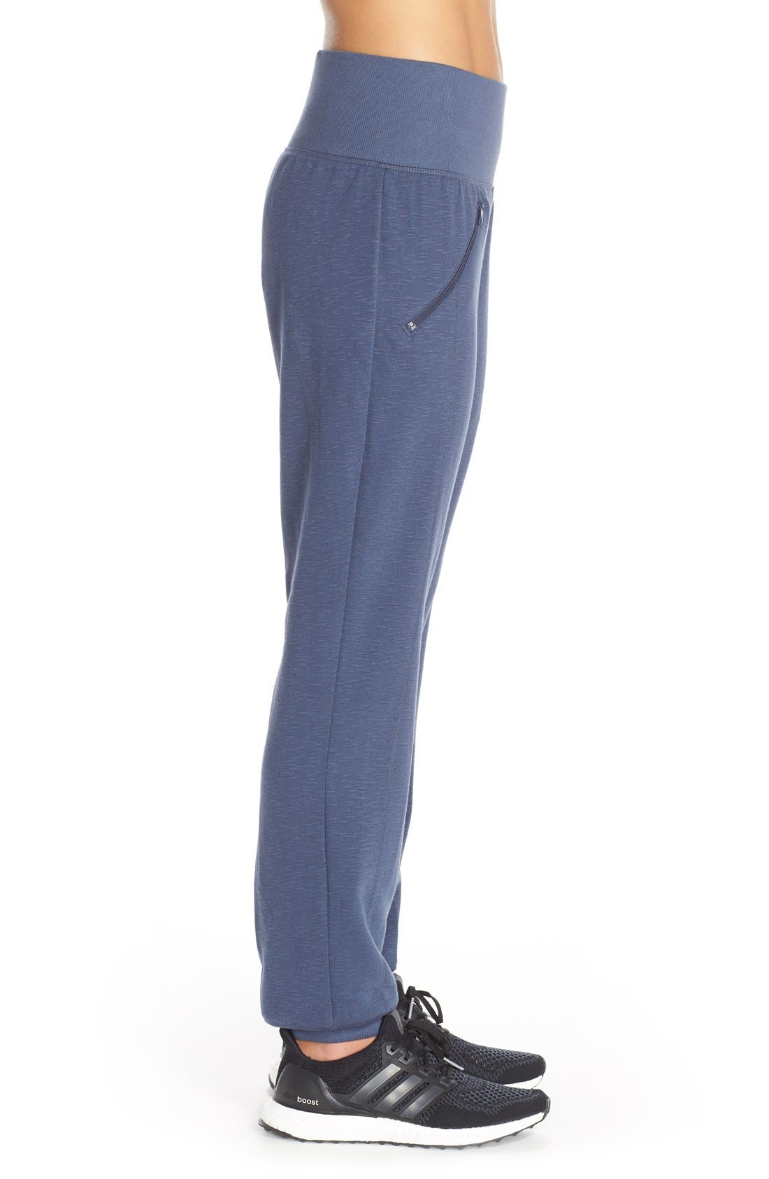 Alternate Image 3  - adidas 'Cozy' Fleece Jogger Pants