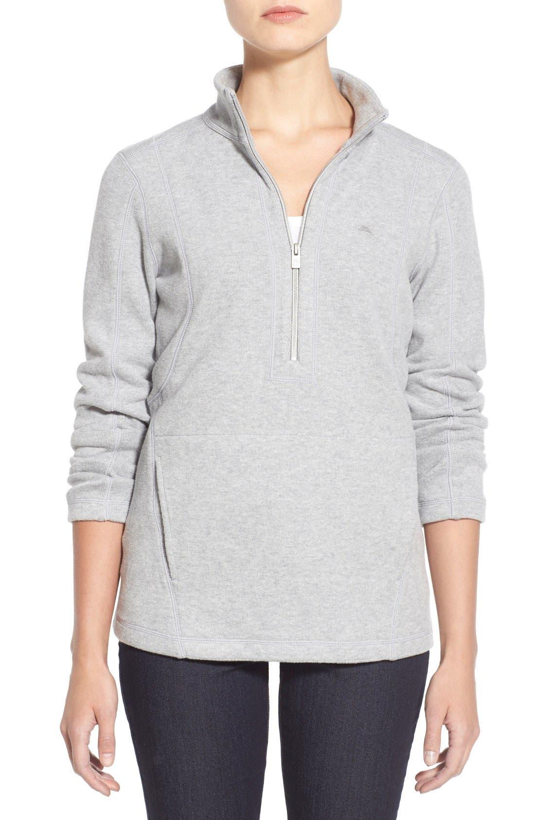 Tommy Bahama 'Aruba' Half Zip Sweatshirt