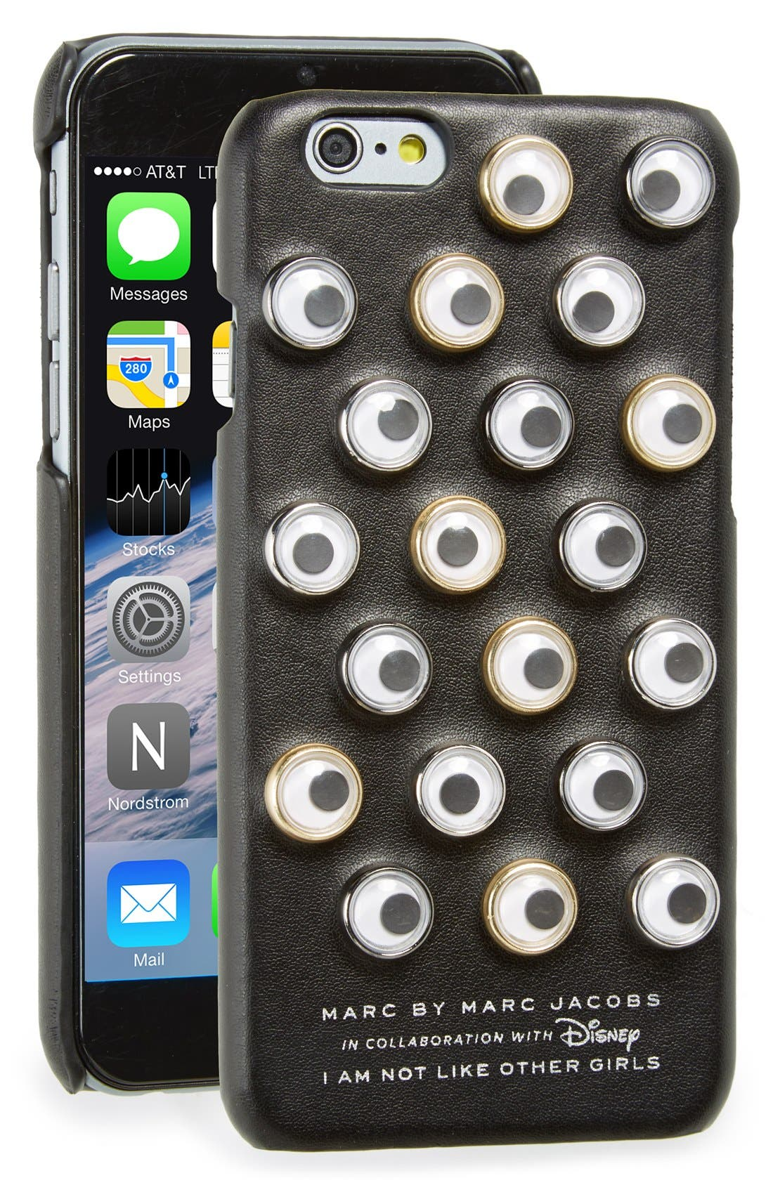 Alternate Image 1 Selected - MARC BY MARC JACOBS x Disney® 'Alice in Wonderland - Googly Eyes' iPhone 6 & 6s Case