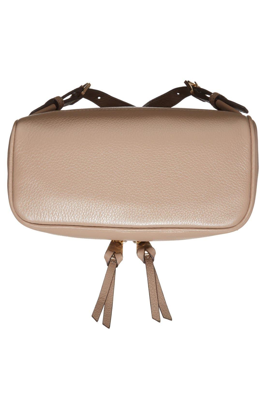 Alternate Image 6  - MICHAEL Michael Kors 'Extra Small Rhea Zip' Leather Backpack