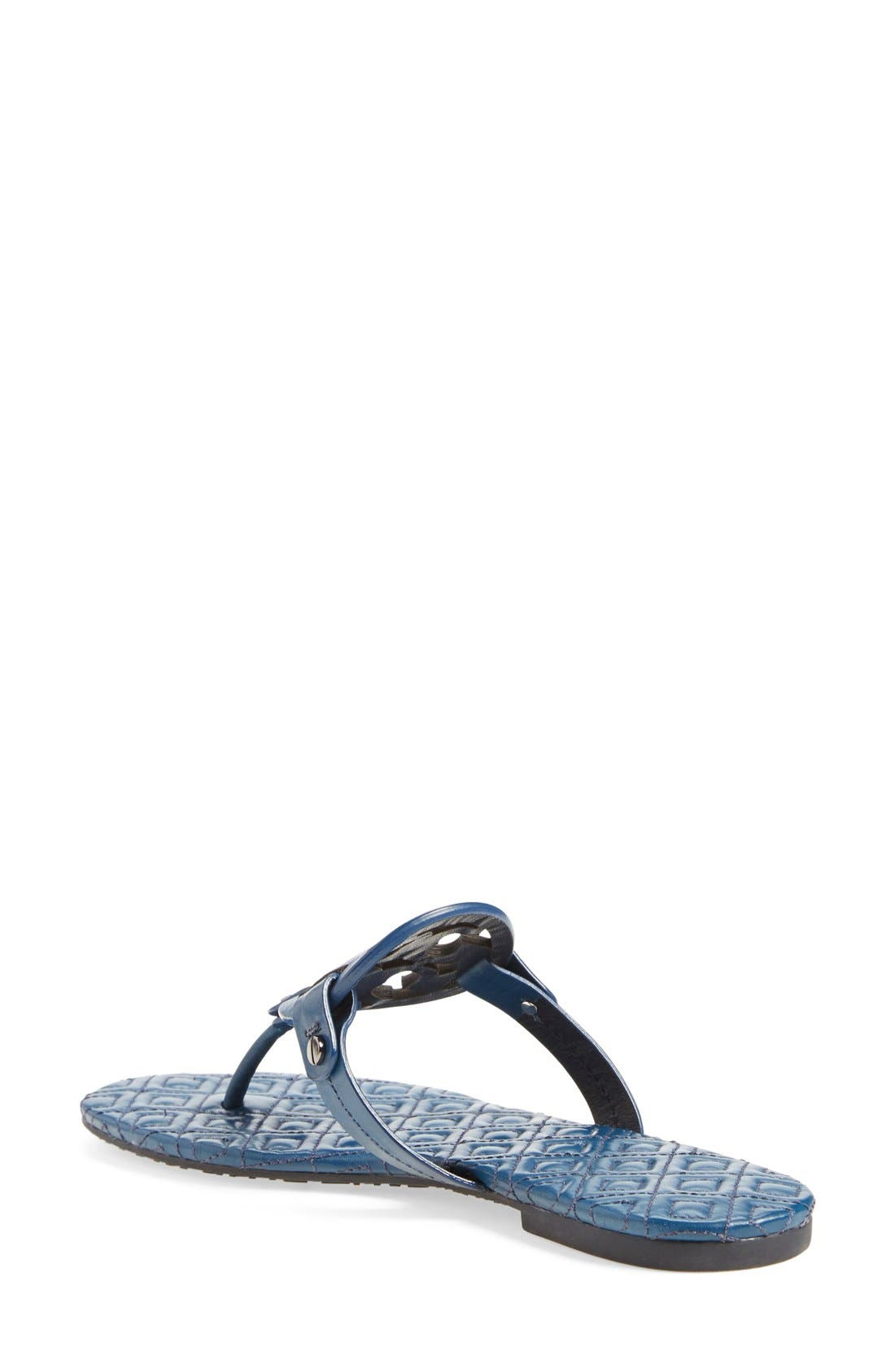 Alternate Image 2  - Tory Burch 'Miller' Quilted Sandal (Women)