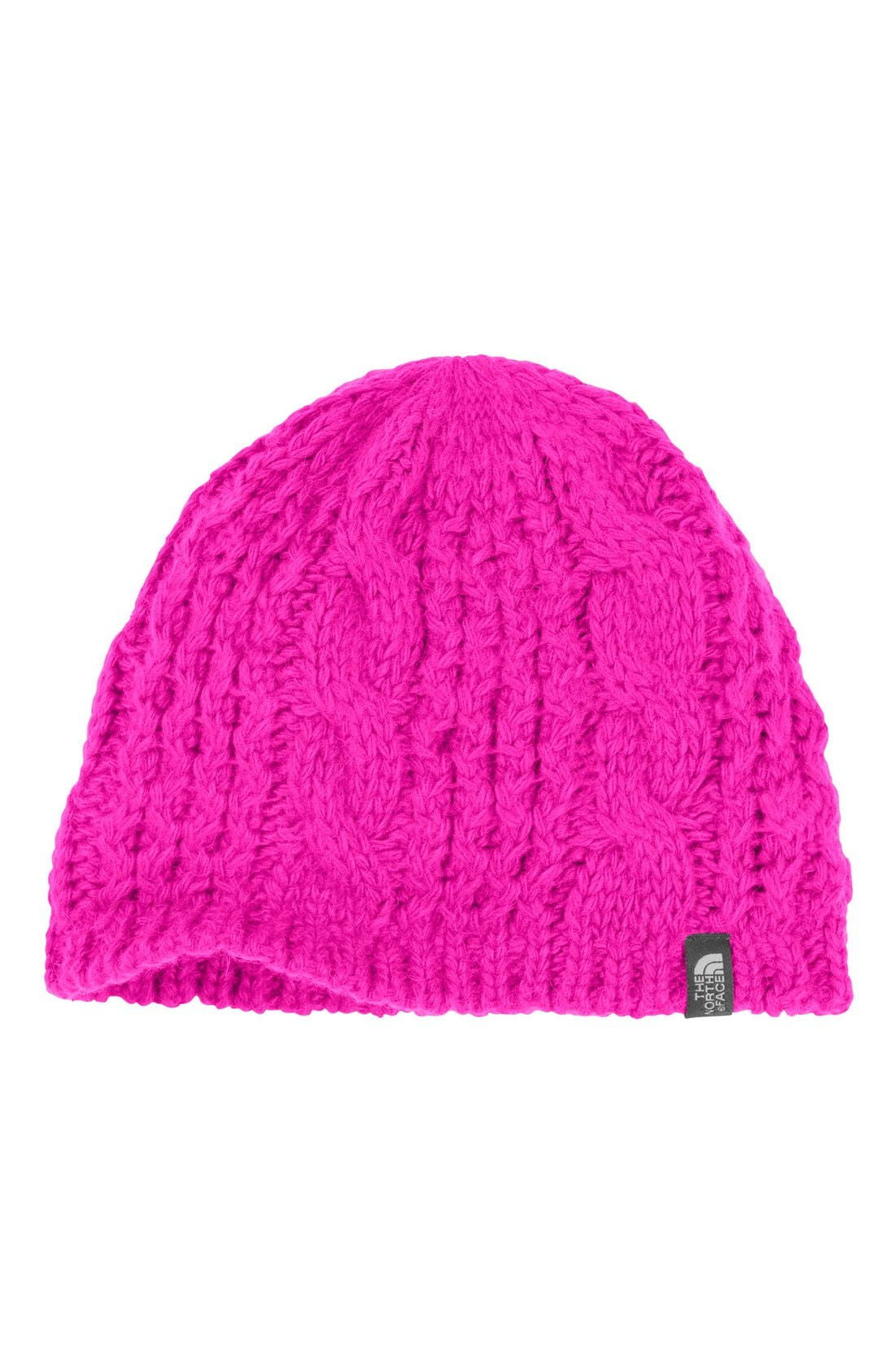 Alternate Image 1 Selected - The North Face 'Minna' Cable Knit Beanie