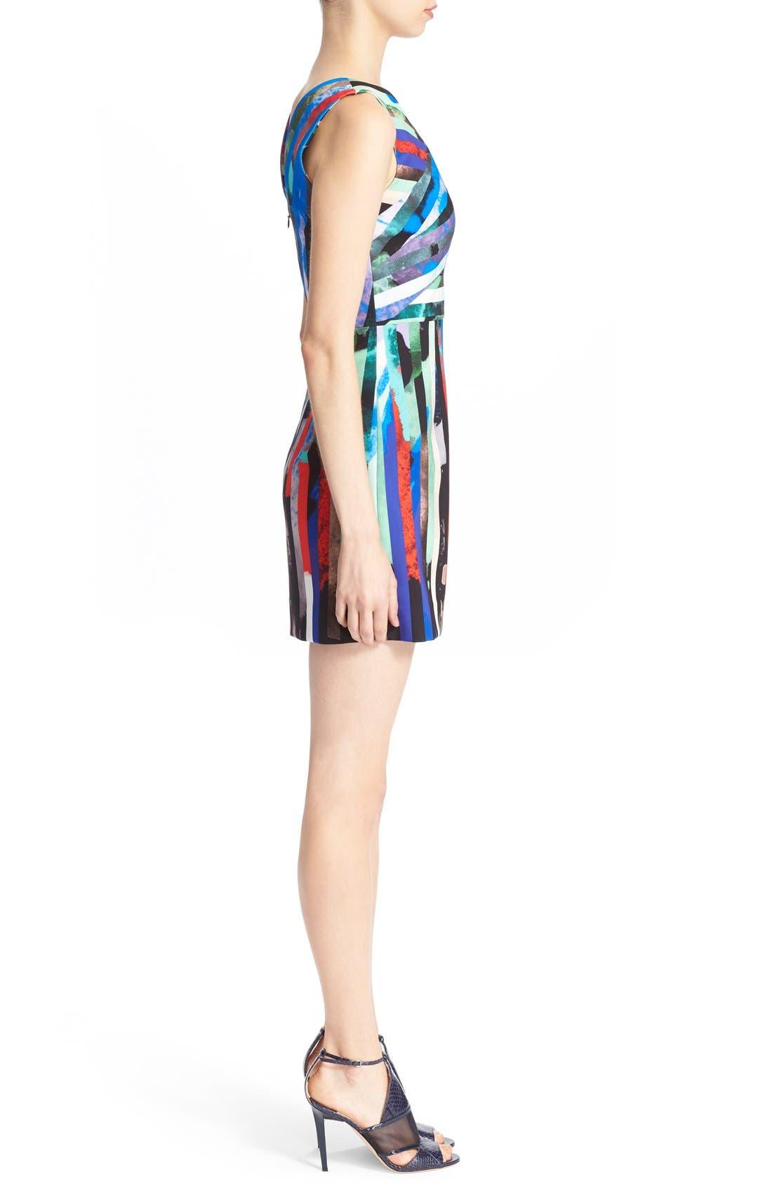 Alternate Image 3  - Milly 'Allison' Stripe Minidress