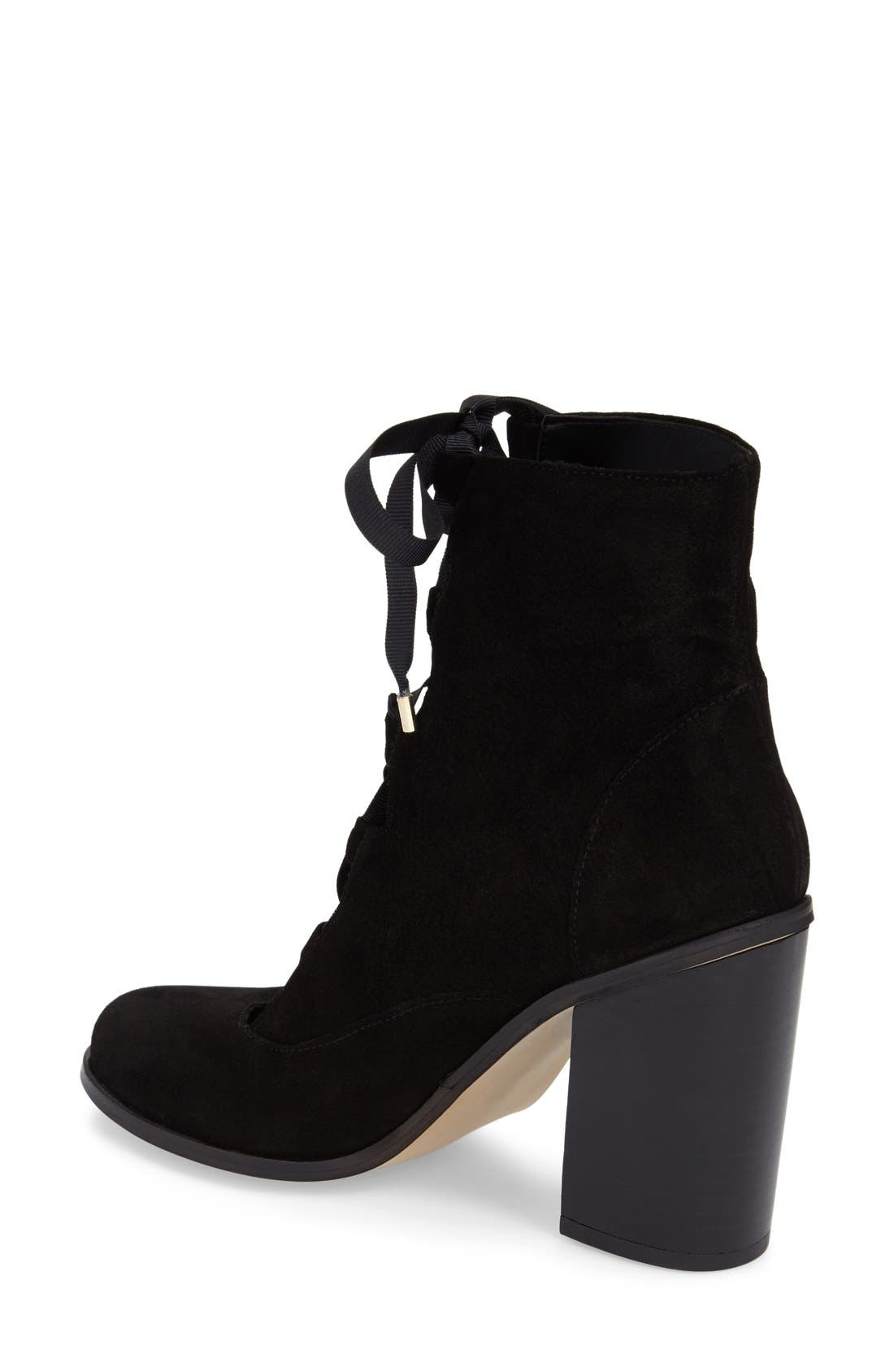 Alternate Image 2  - Topshop 'Magpie' Ghillie Boot (Women)