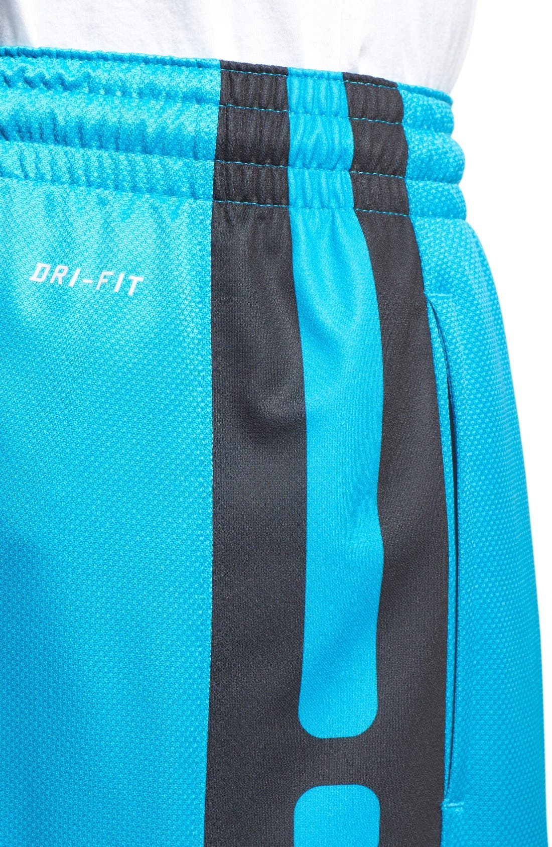 Alternate Image 4  - Nike 'Elite' Knit Basketball Shorts
