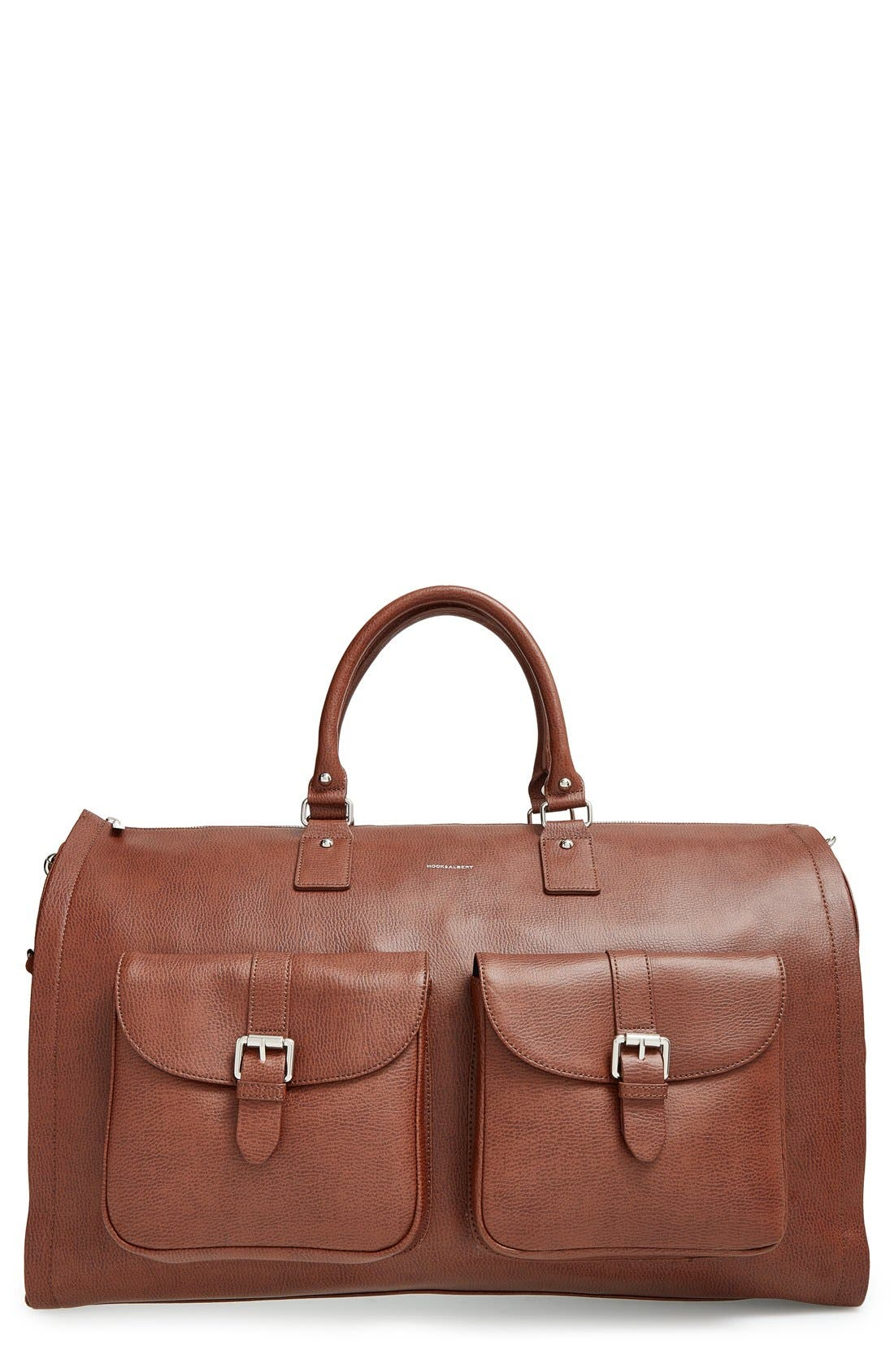 hook + ALBERT Leather Garment/Duffel Bag (22 inch)
