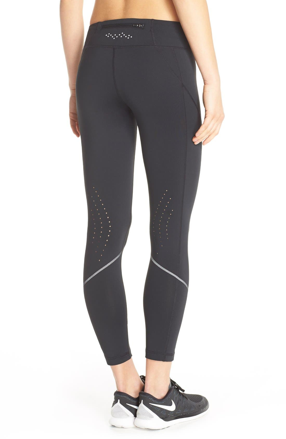 Alternate Image 2  - Zella 'Fly By' Running Midi Tights
