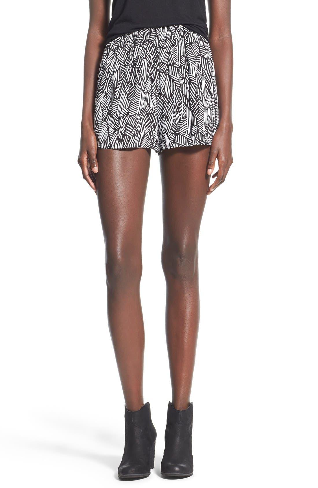 Alternate Image 1 Selected - BP. Woven Print Shorts