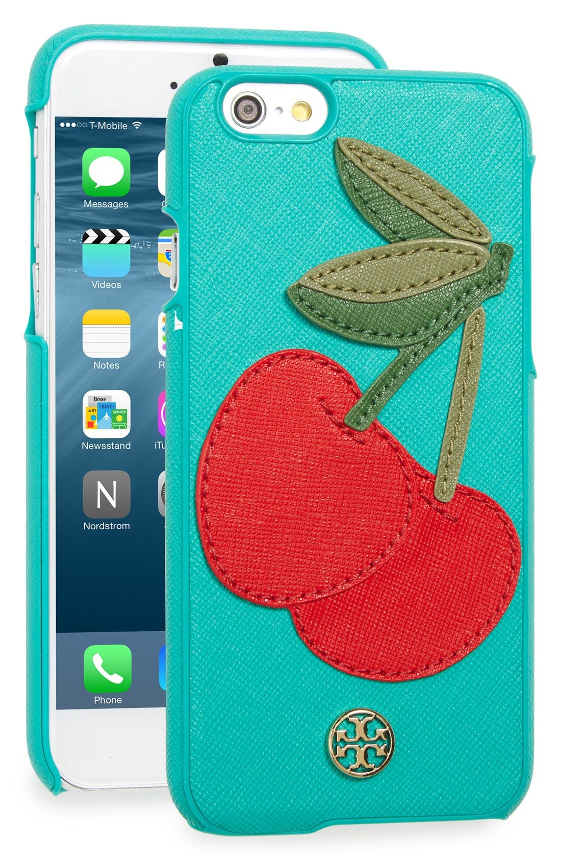 Alternate Image 1 Selected - Tory Burch 'Cherry' iPhone 6 & 6s Case