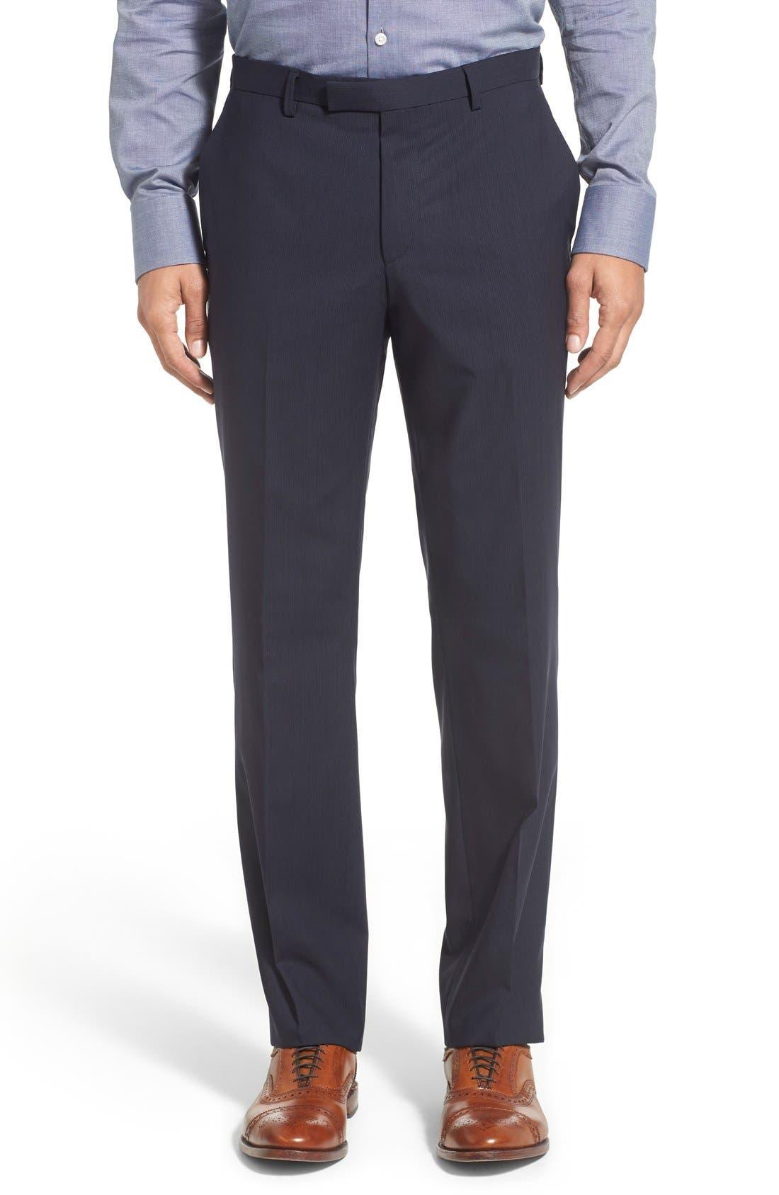 Alternate Image 6  - BOSS 'James/Sharp' Trim Fit Stripe Wool Suit