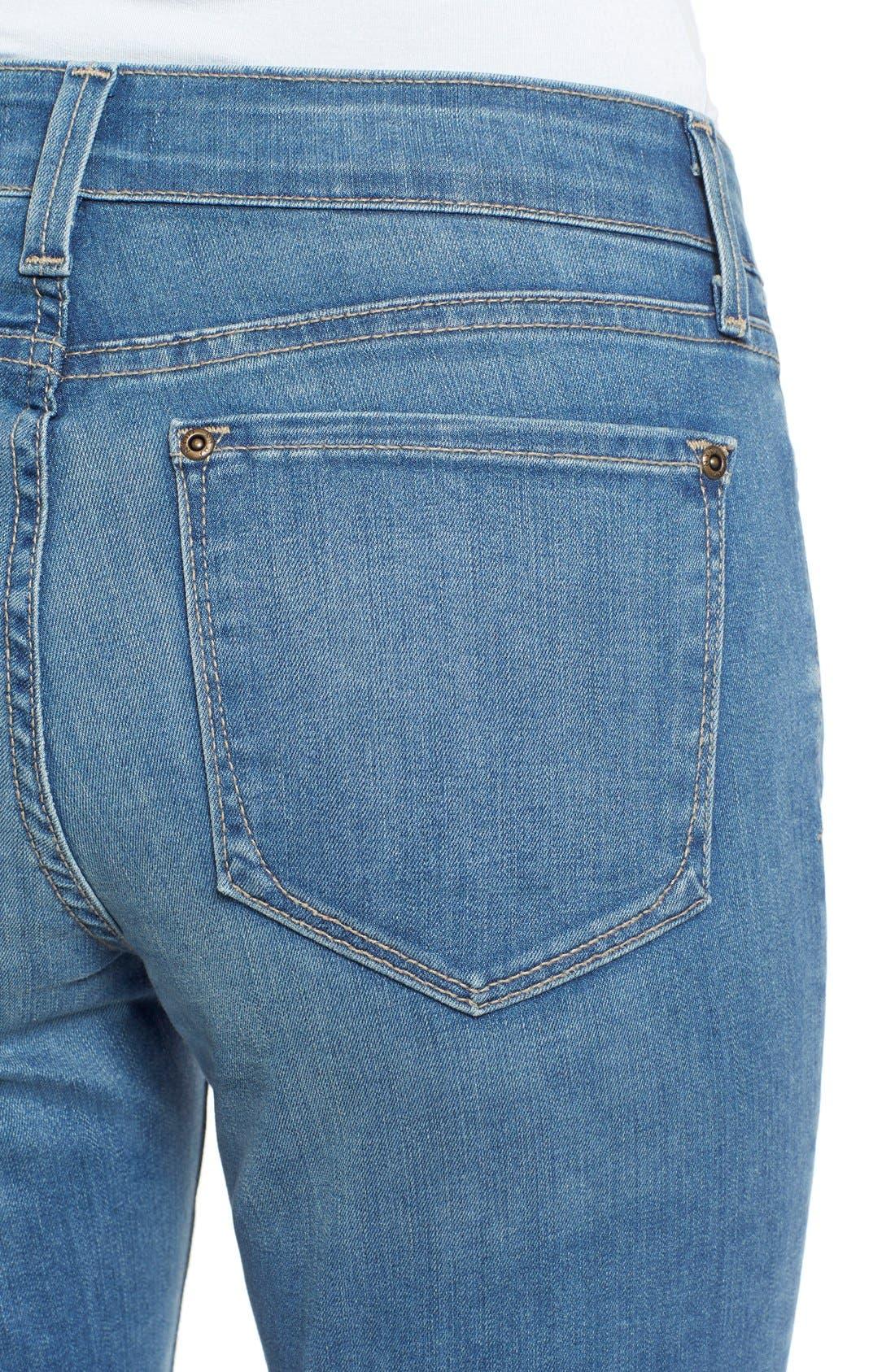 Alternate Image 4  - NYDJ 'Anabelle' Stretch Skinny Boyfriend Jeans (Upper Falls) (Regular & Petite)