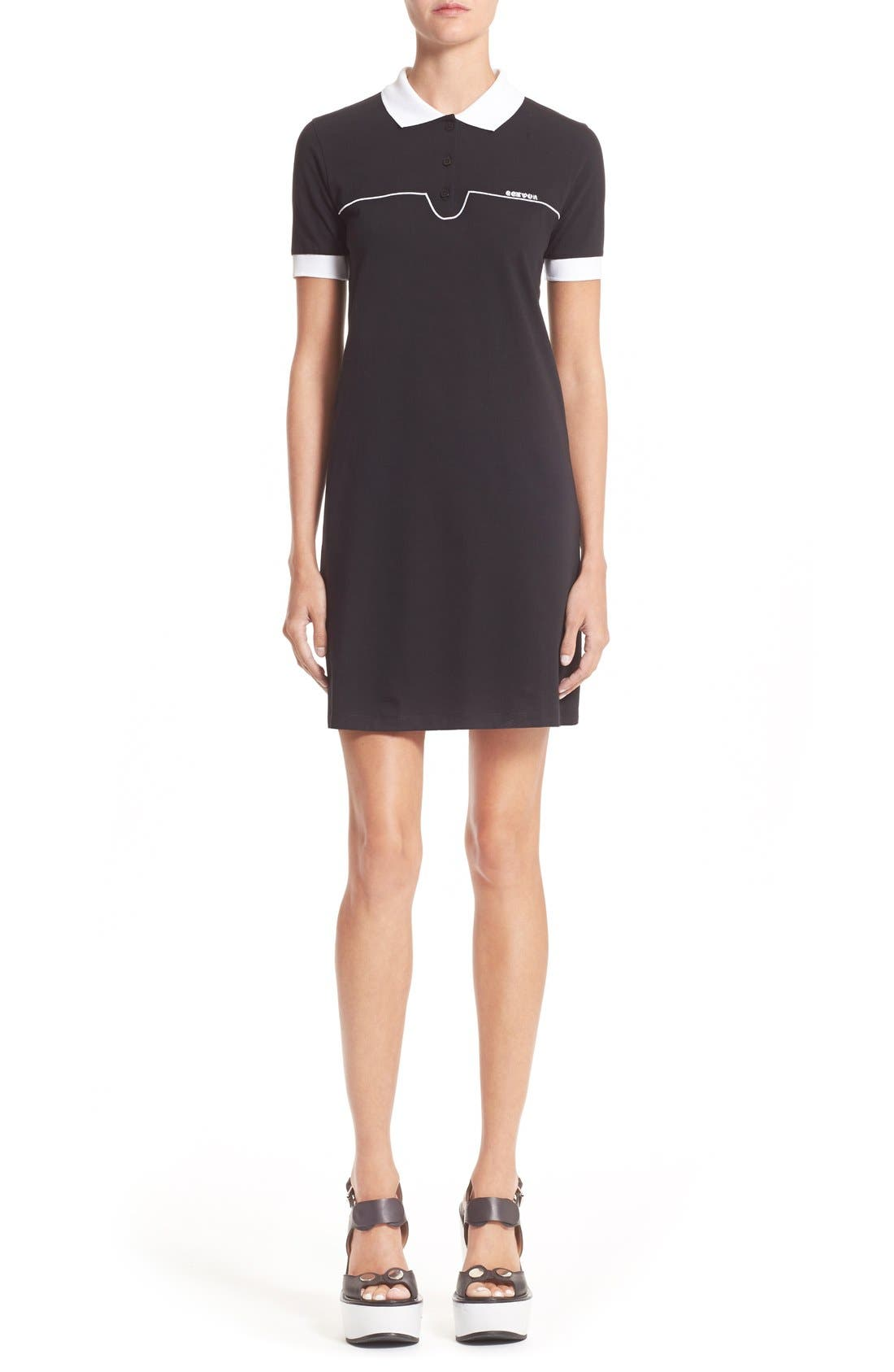 Alternate Image 1 Selected - Carven Cotton Polo Dress