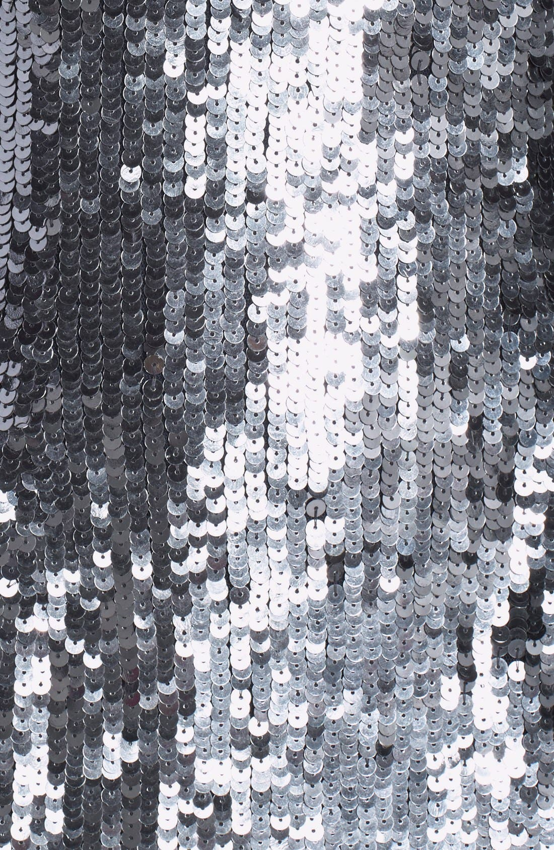 Alternate Image 3  - JS Collections Illusion Neck Sequin Gown