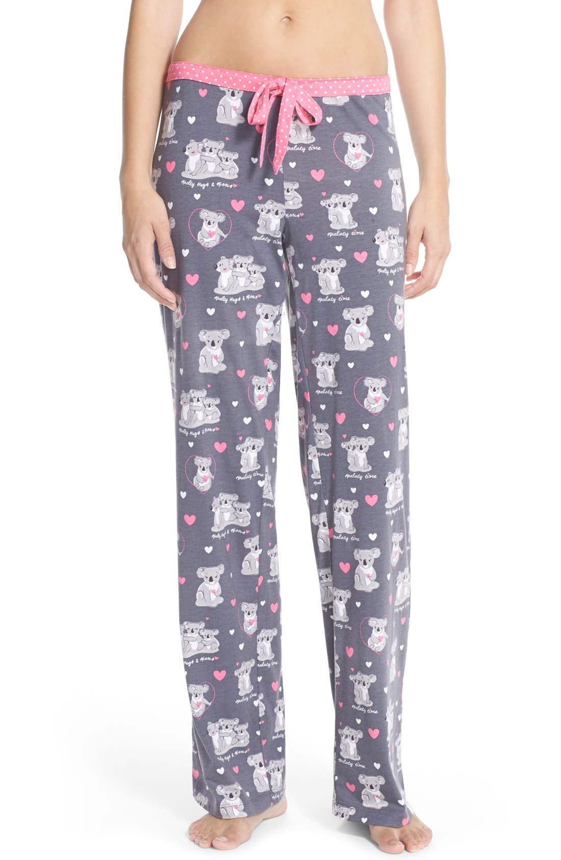 Alternate Image 1 Selected - PJ Salvage Print Cotton & Modal Pajama Pants