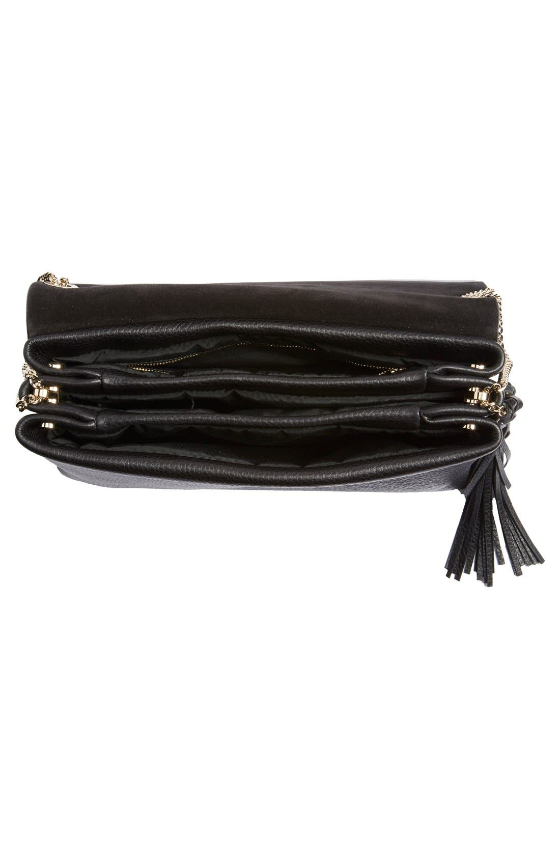 Alternate Image 4  - Lanvin 'Large Sugar' Tasseled Leather Shoulder Bag