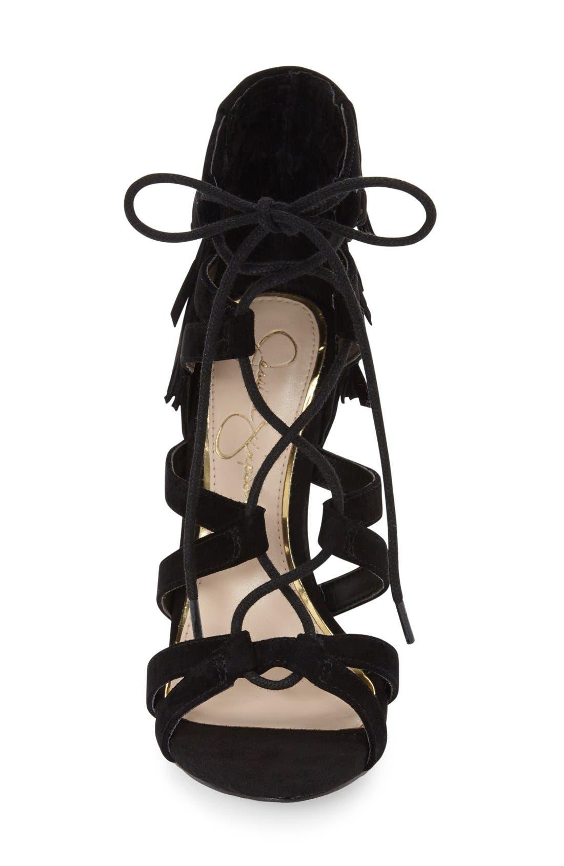 Alternate Image 3  - Jessica Simpson 'Bregan' Cage Fringe Sandal (Women)