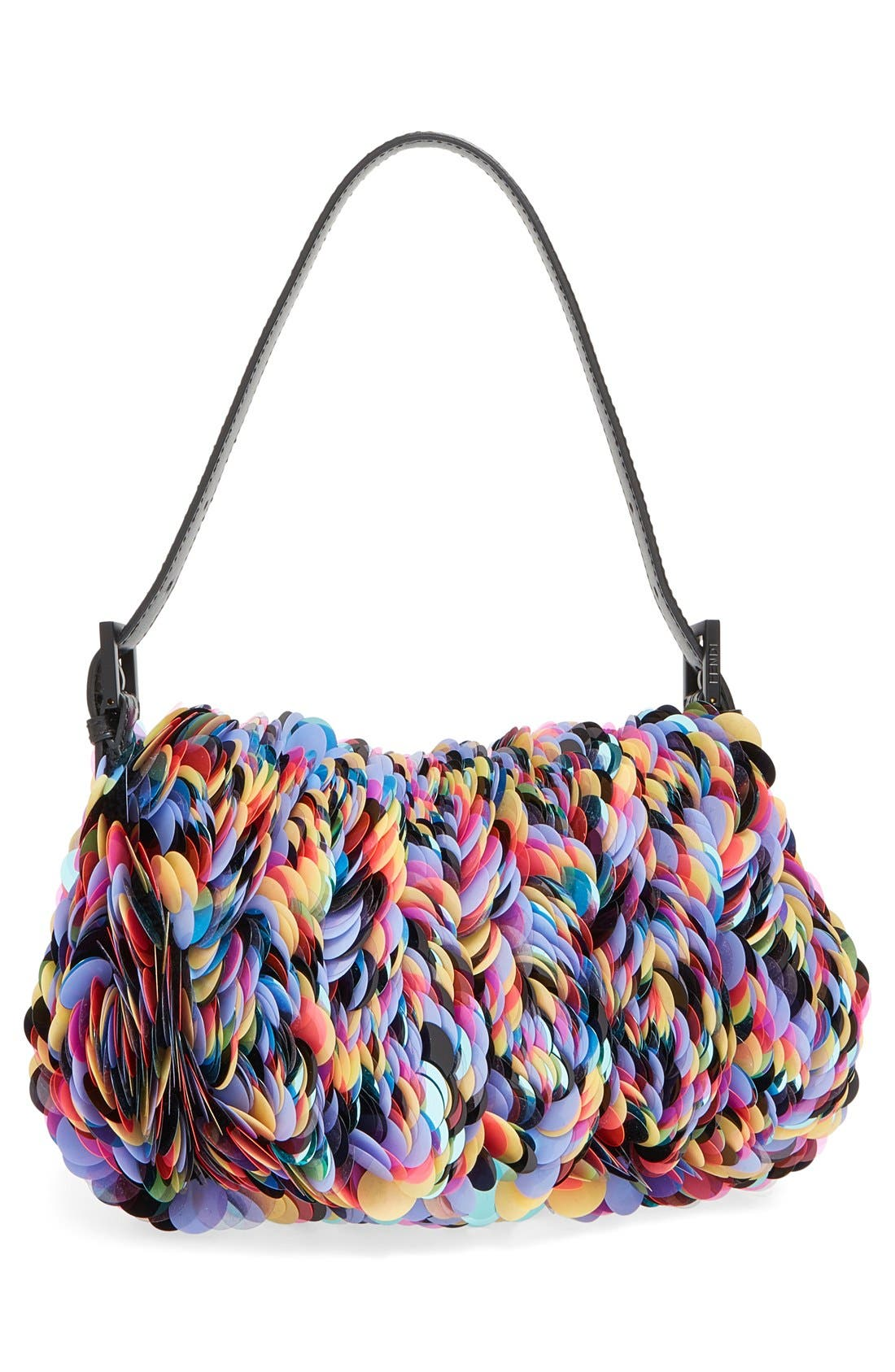 Alternate Image 3  - Fendi Paillette Baguette Shoulder Bag