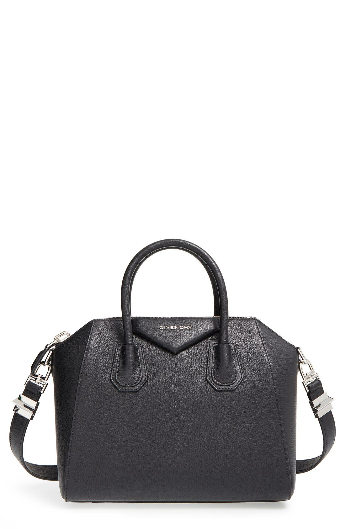 Givenchy 'Small Antigona' Sugar Leather Satchel