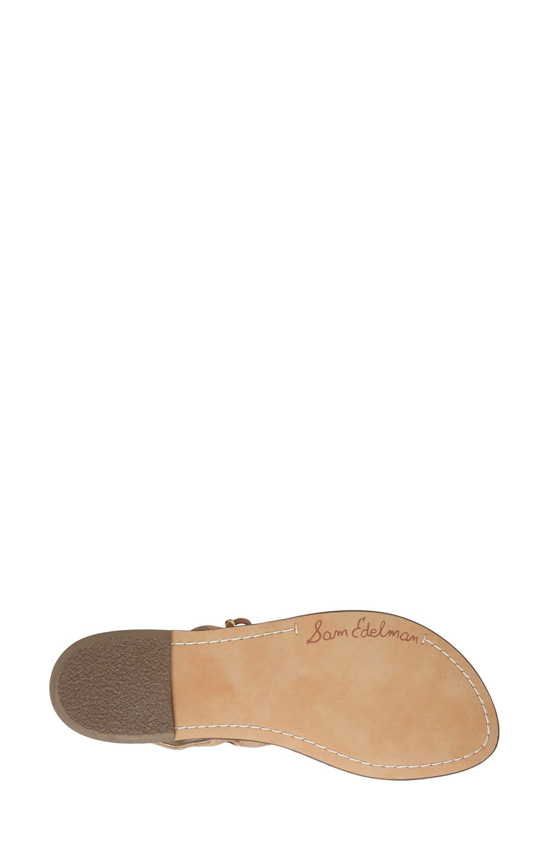 Alternate Image 4  - Sam Edelman 'Gemma' Lace-Up Sandal (Women)