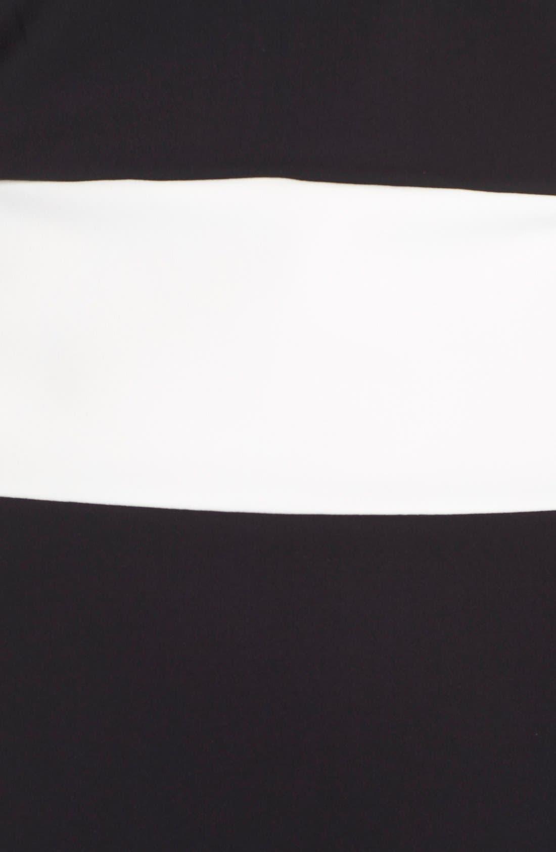 Alternate Image 7  - Chiara Boni La Petite Robe 'Bebel' Stripe Jersey Sheath Dress