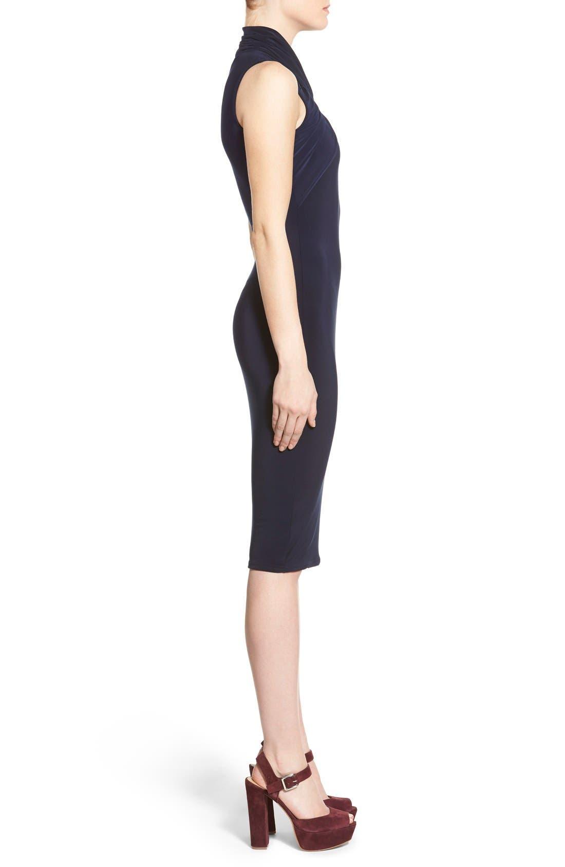 Alternate Image 3  - Missguided Twist Neck Body-Con Dress