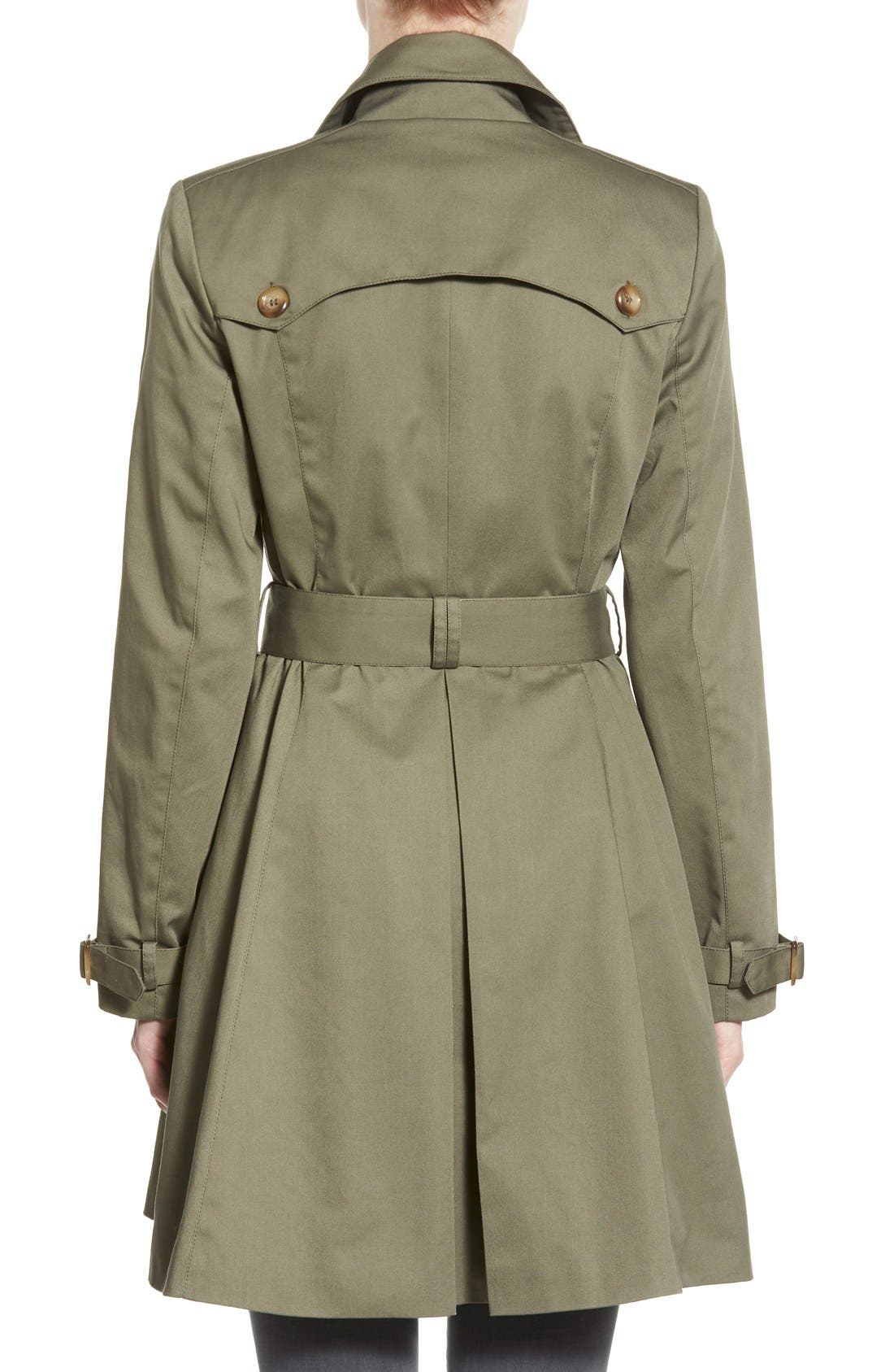 Alternate Image 2  - Coffee Shop Trench Coat