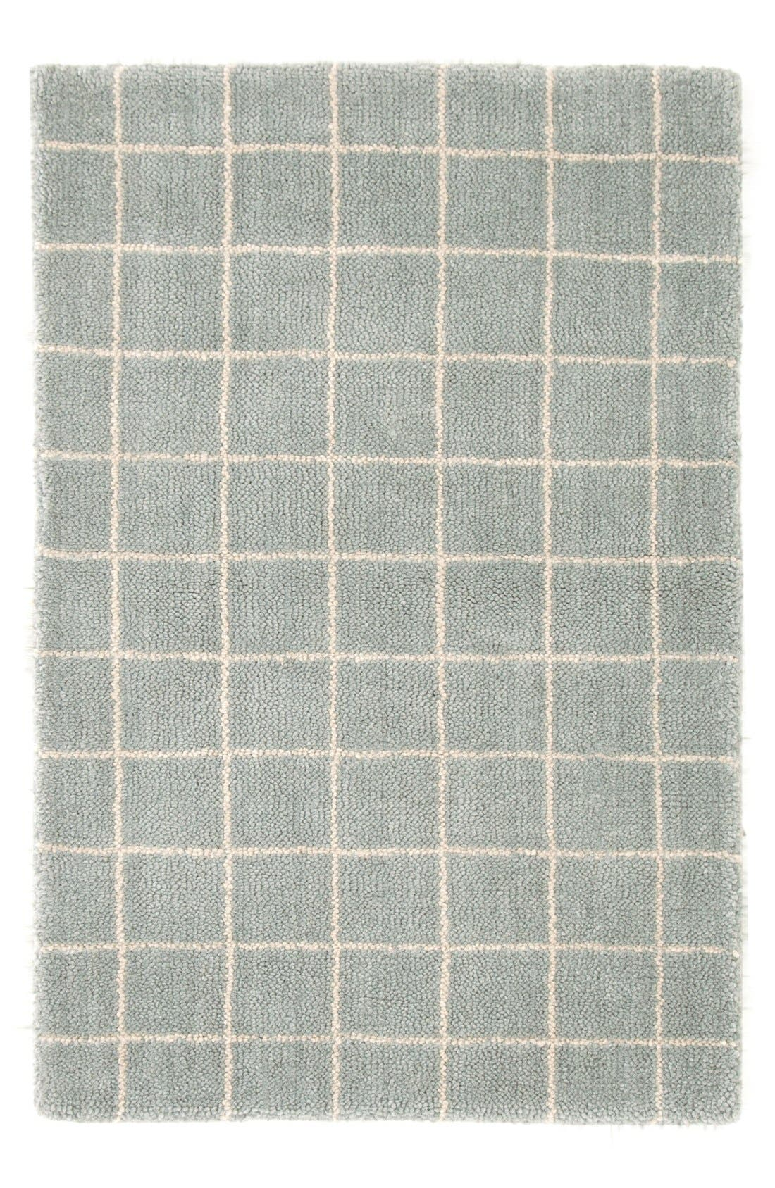 Dash Amp Albert Grid Tufted Wool Rug Nordstrom