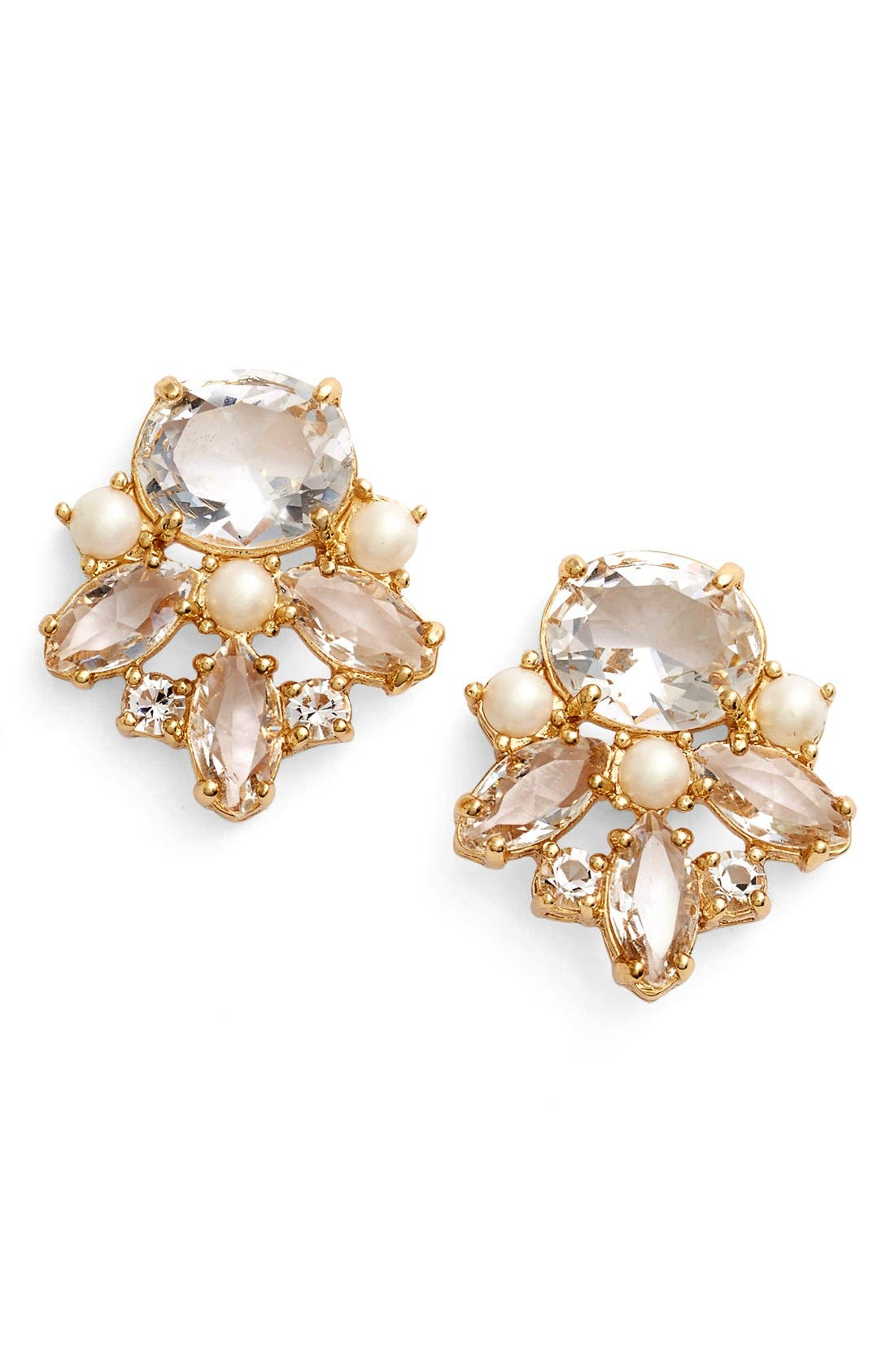 Alternate Image 1 Selected - kate spade new york 'chantilly' cluster stud earrings