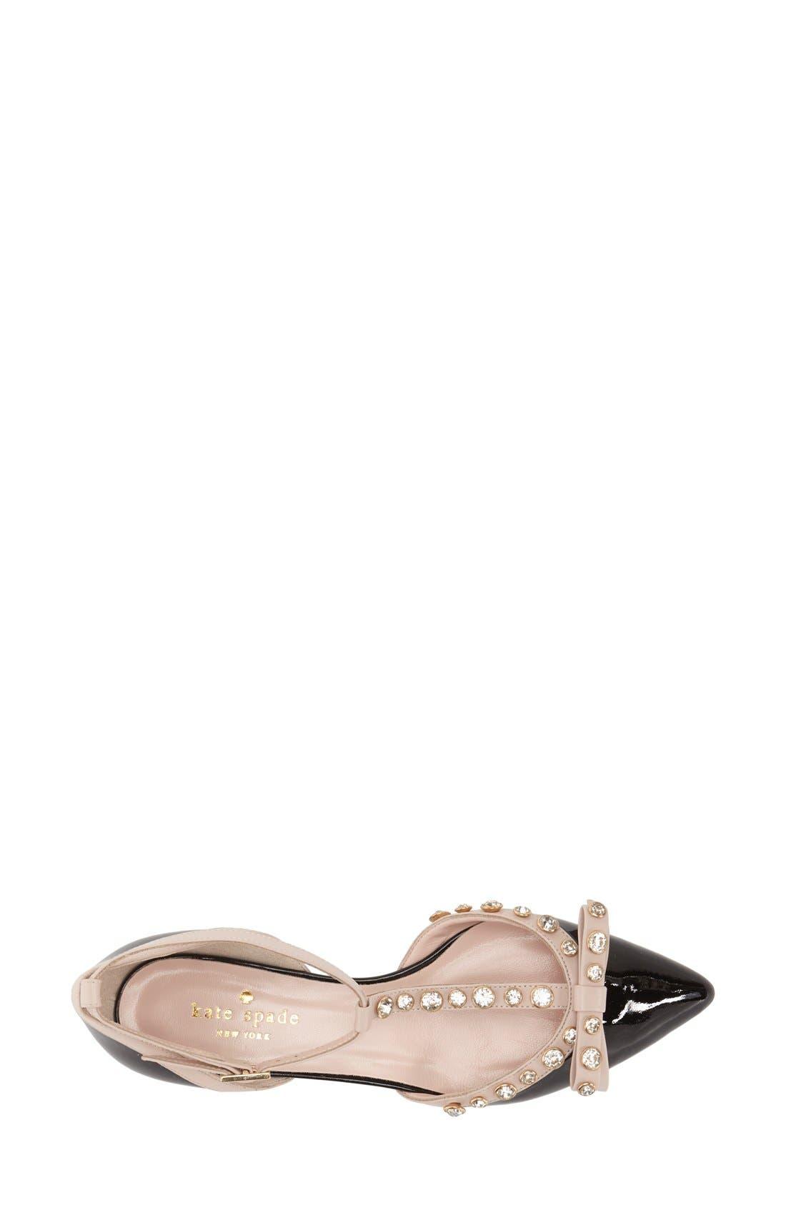 Alternate Image 3  - kate spade new york 'becca' t-strap sandal (women)