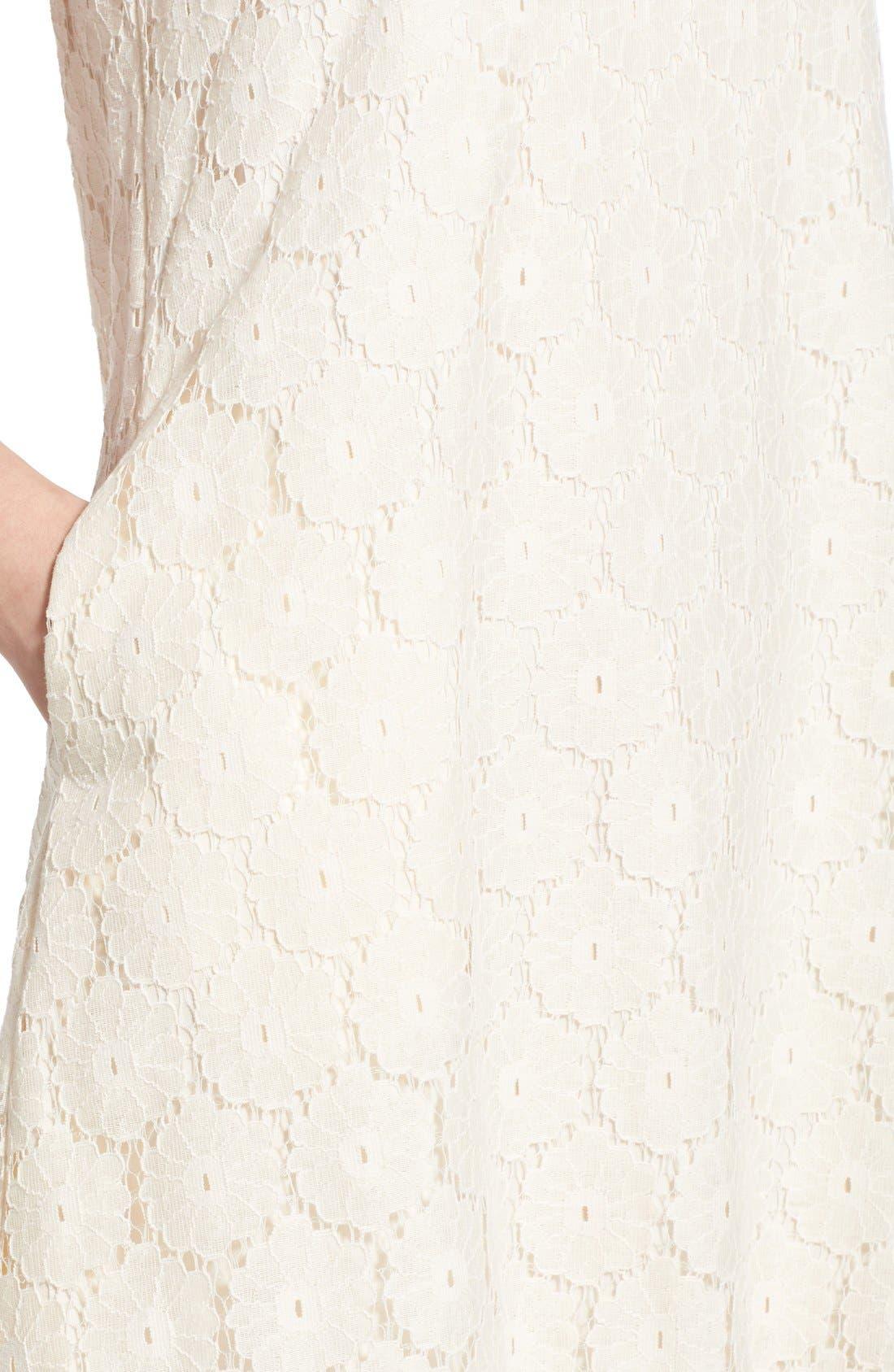 Alternate Image 4  - Speechless 'Daisy' Lace Sleeveless Shift Dress