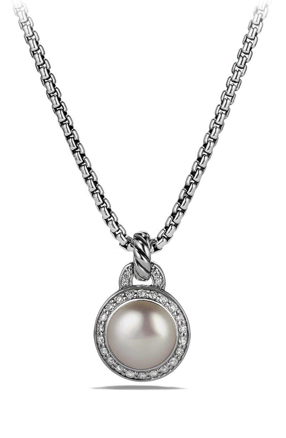 DAVID YURMAN 'Cerise' Petite Cerise Pendant Necklace with