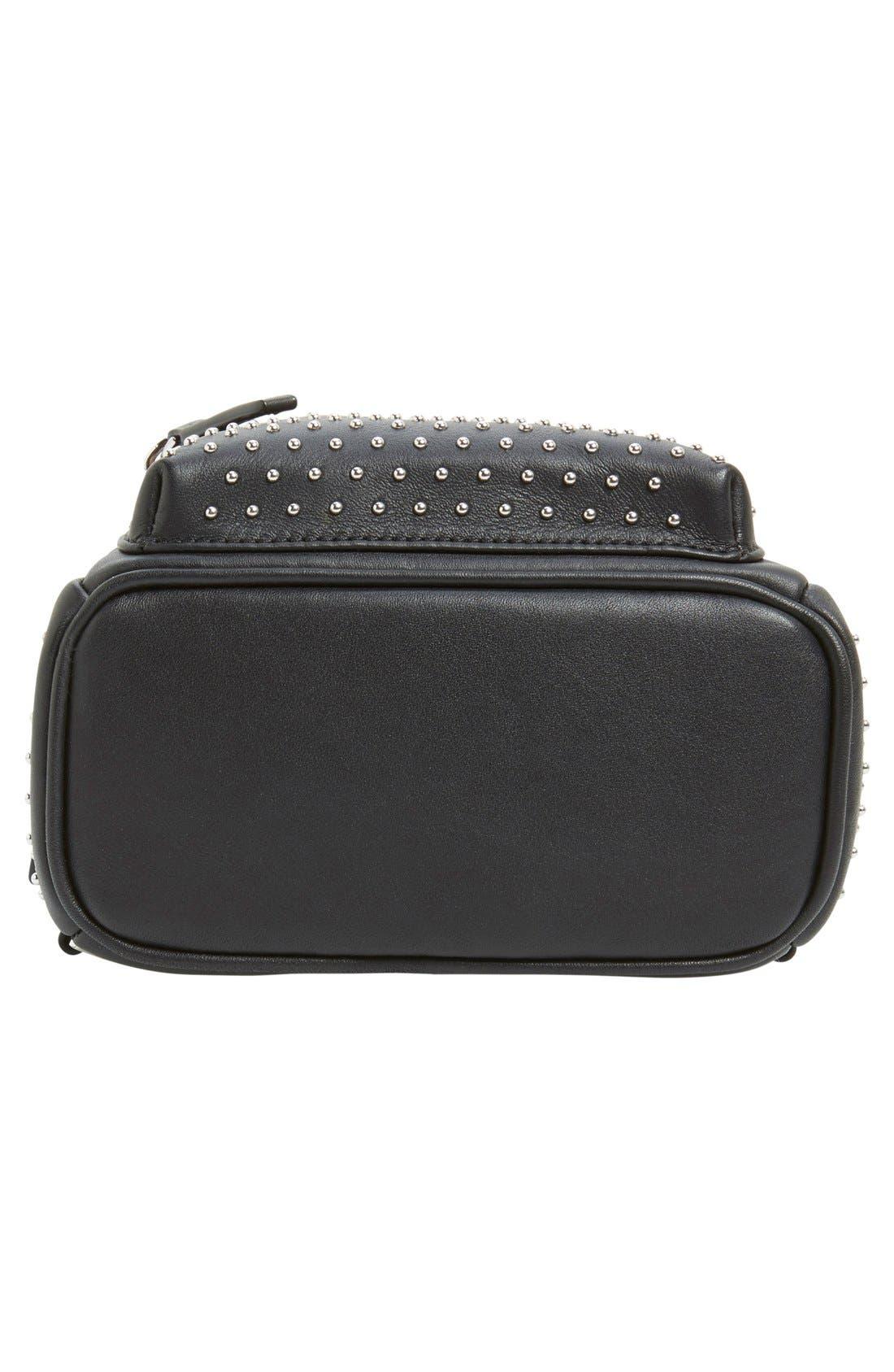 Alternate Image 6  - MCM 'X-Mini Stark - Bebe Boo' Studded Leather Backpack