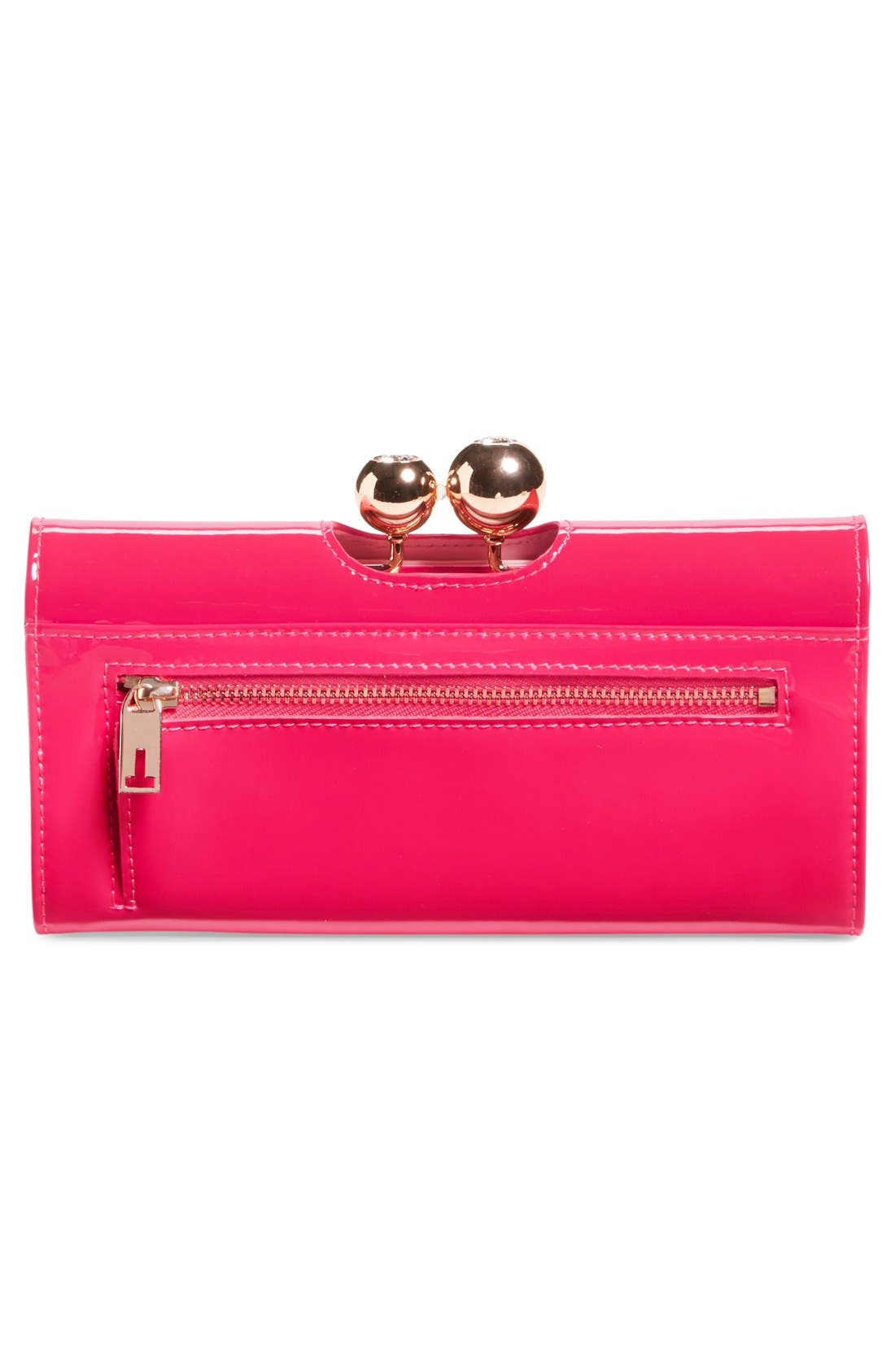 Alternate Image 3  - Ted Baker London 'Odd Bobble' Patent Leather Matinee Wallet