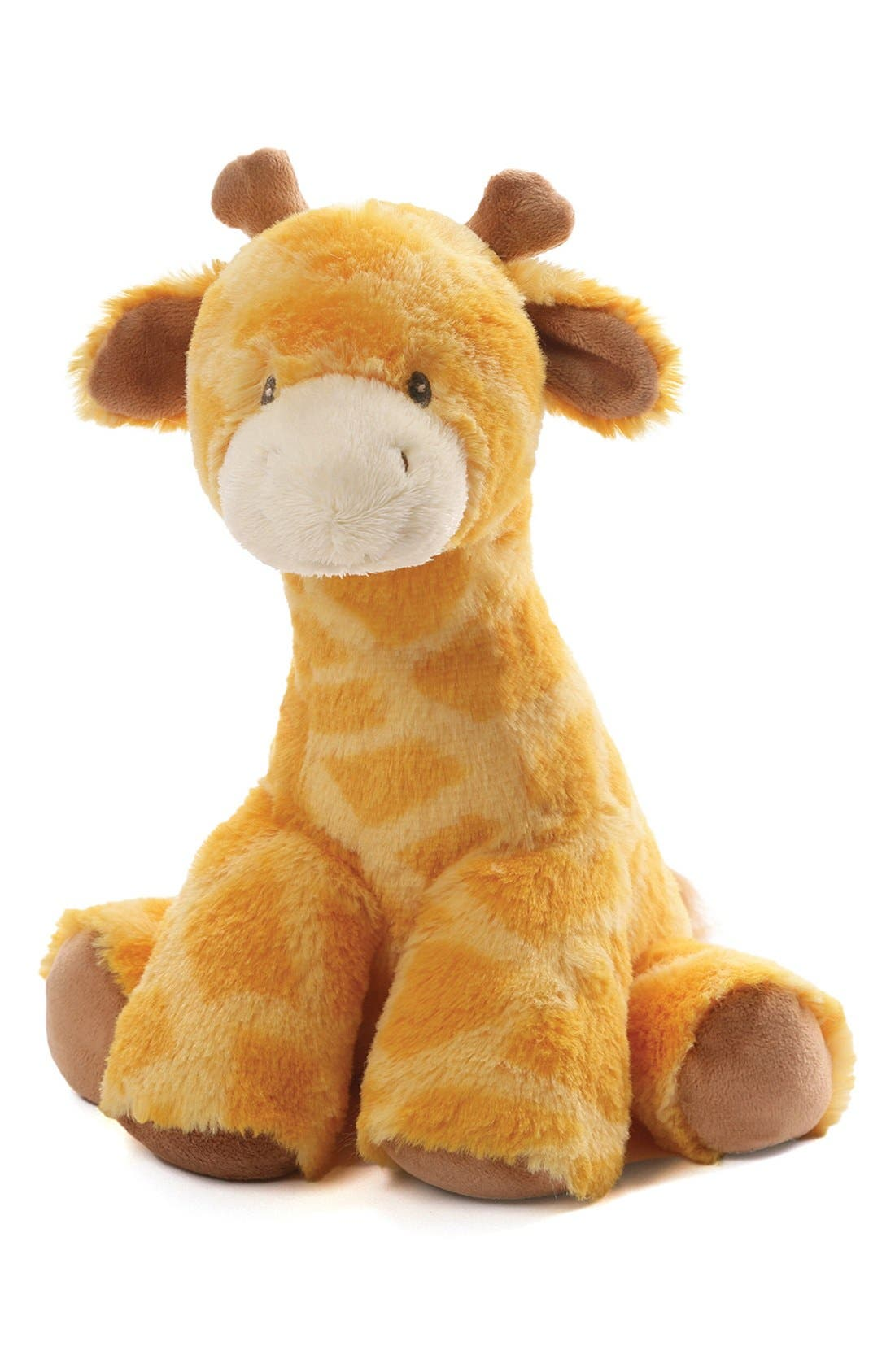 BABY GUND 'Tucker Giraffe' Keywind Musical Stuffed Animal