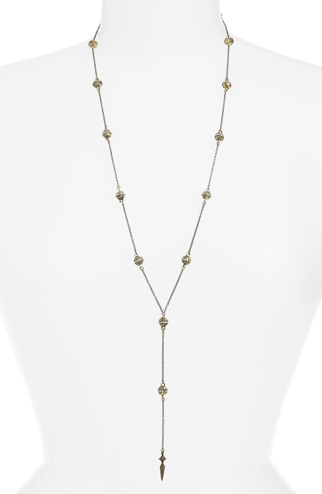 ETTIKA Pyramid Bead Rosary Necklace