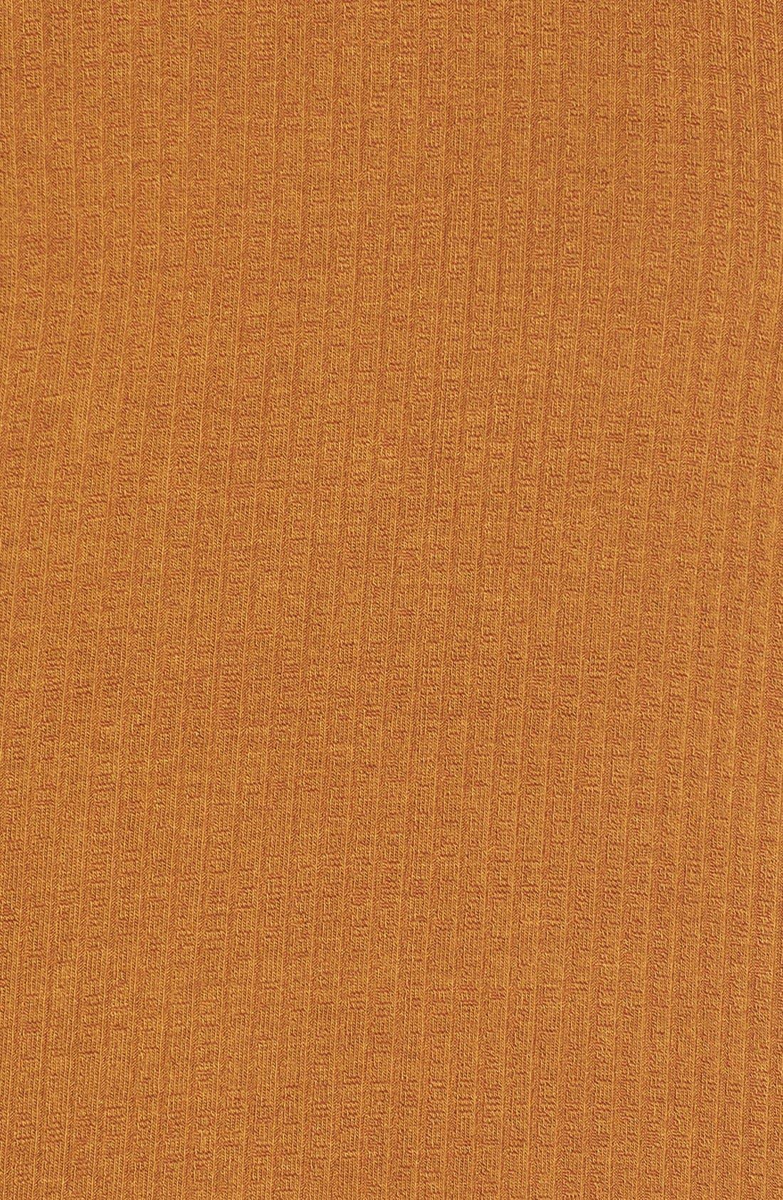 Alternate Image 5  - Lush Cold Shoulder Rib Knit Shift Dress