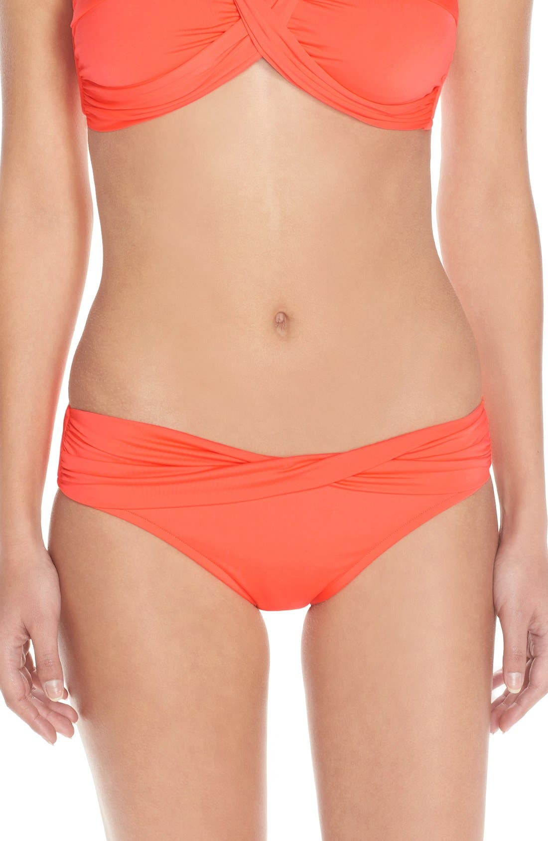 Alternate Image 1 Selected - Seafolly Hipster Bikini Bottoms